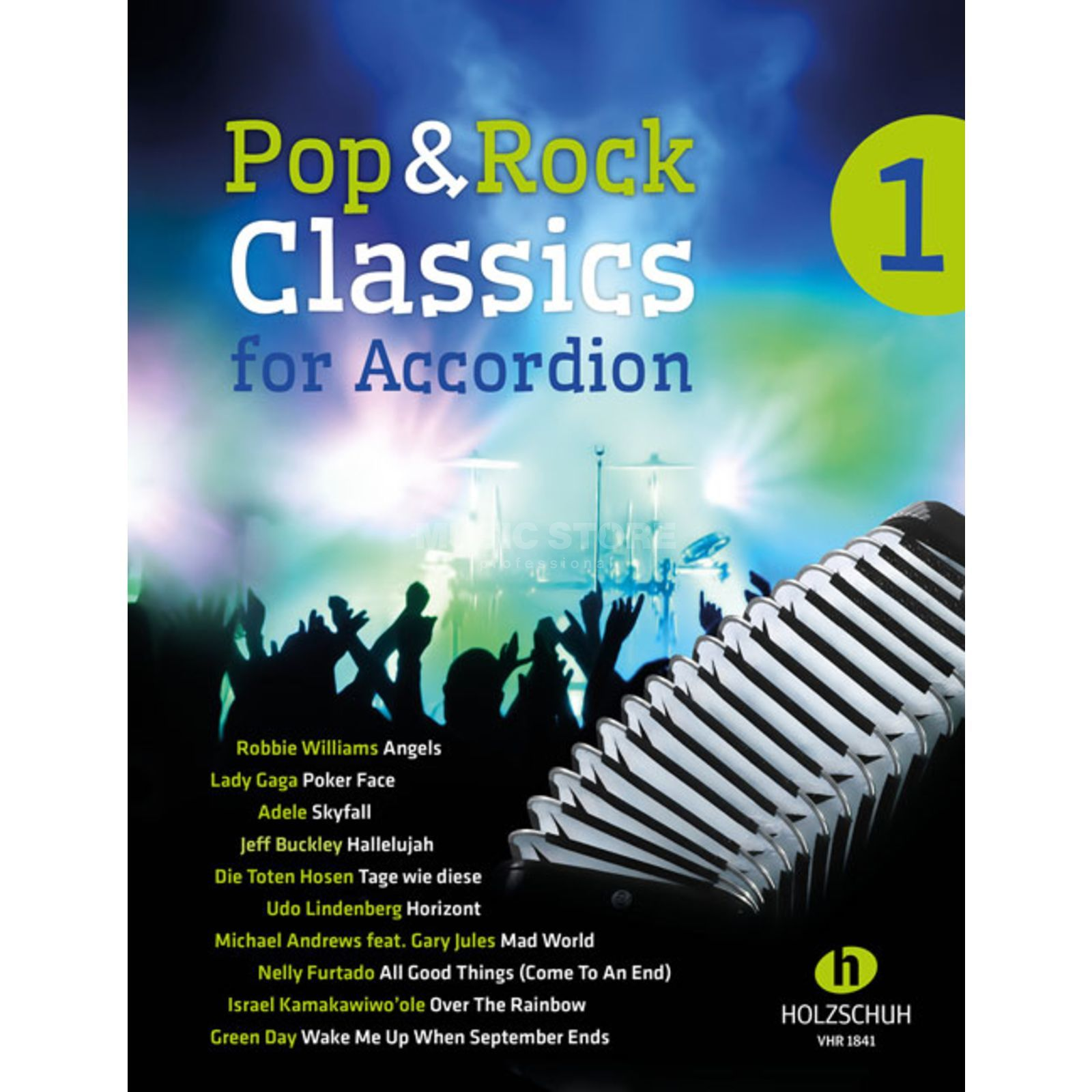 Holzschuh Verlag Pop & Rock Classics 1 Accordion Produktbillede