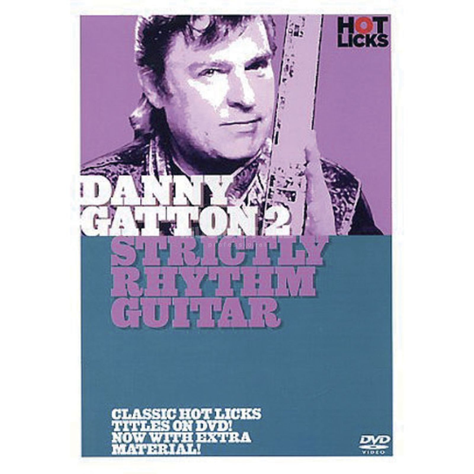 Hotlicks Videos Gatton 2 - Strictly Rhythm Hot Licks Guitar, DVD Produktbild