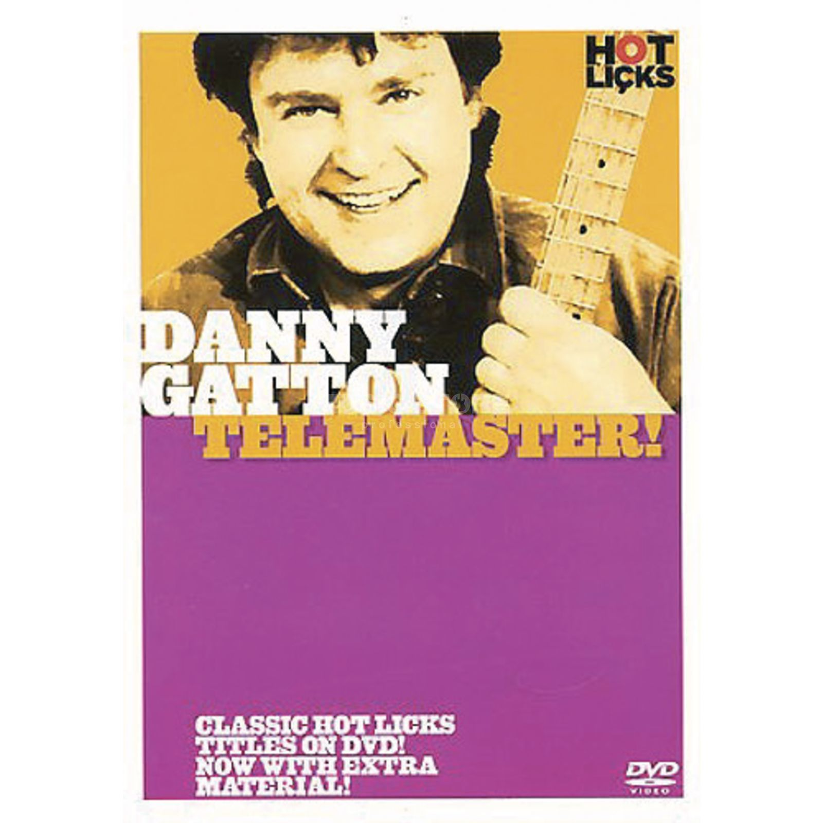 Hotlicks Videos Gatton, Danny -Telemaster Hot Licks Guitar, DVD Produktbild