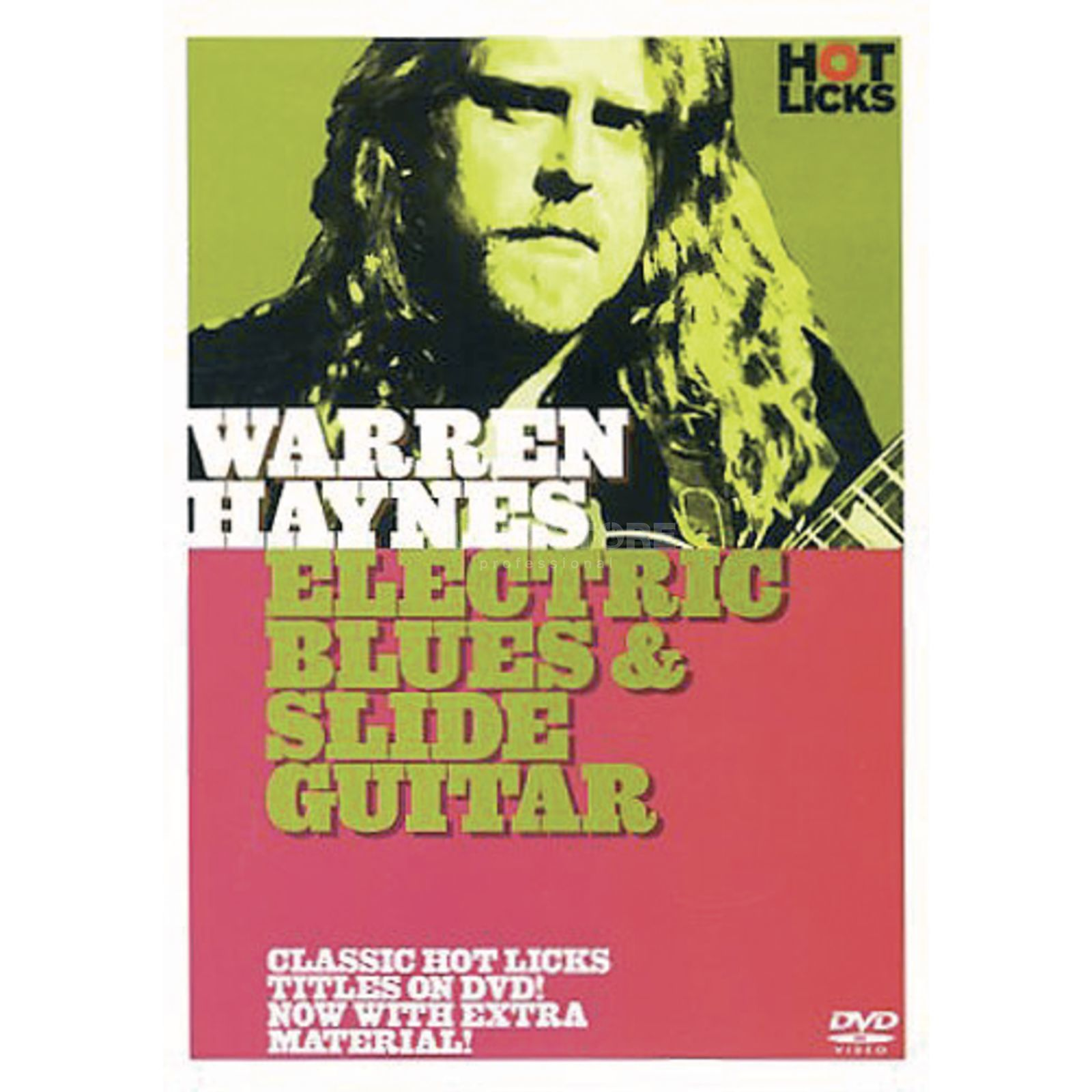 Hotlicks Videos Haynes,W - Blues & slide Hot Licks Guitar, DVD Produktbillede