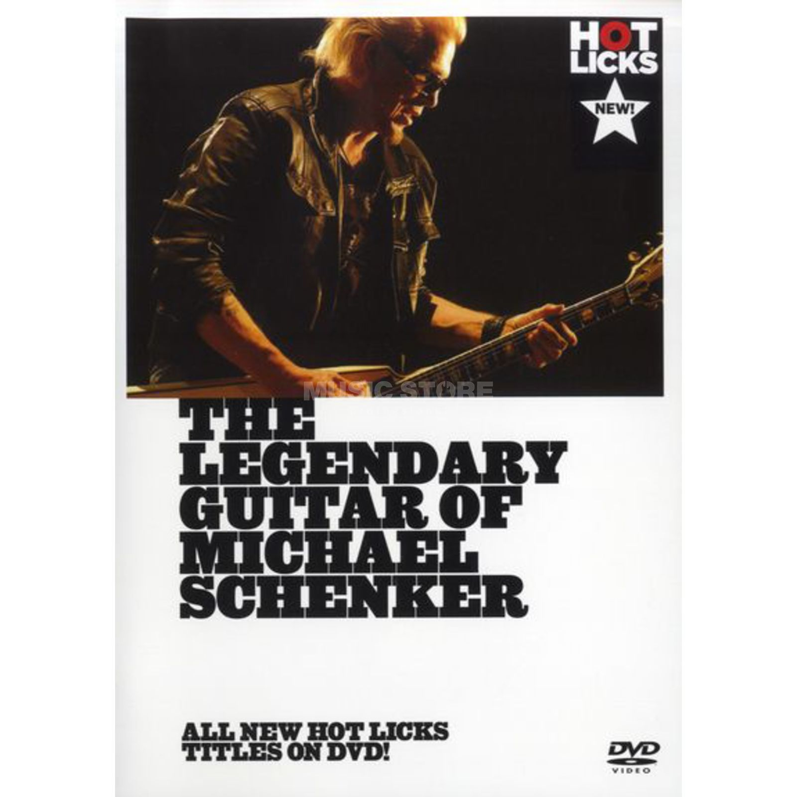 Hotlicks Videos Legendary Guitar Of M Schenker Hot Licks, DVD Produktbild