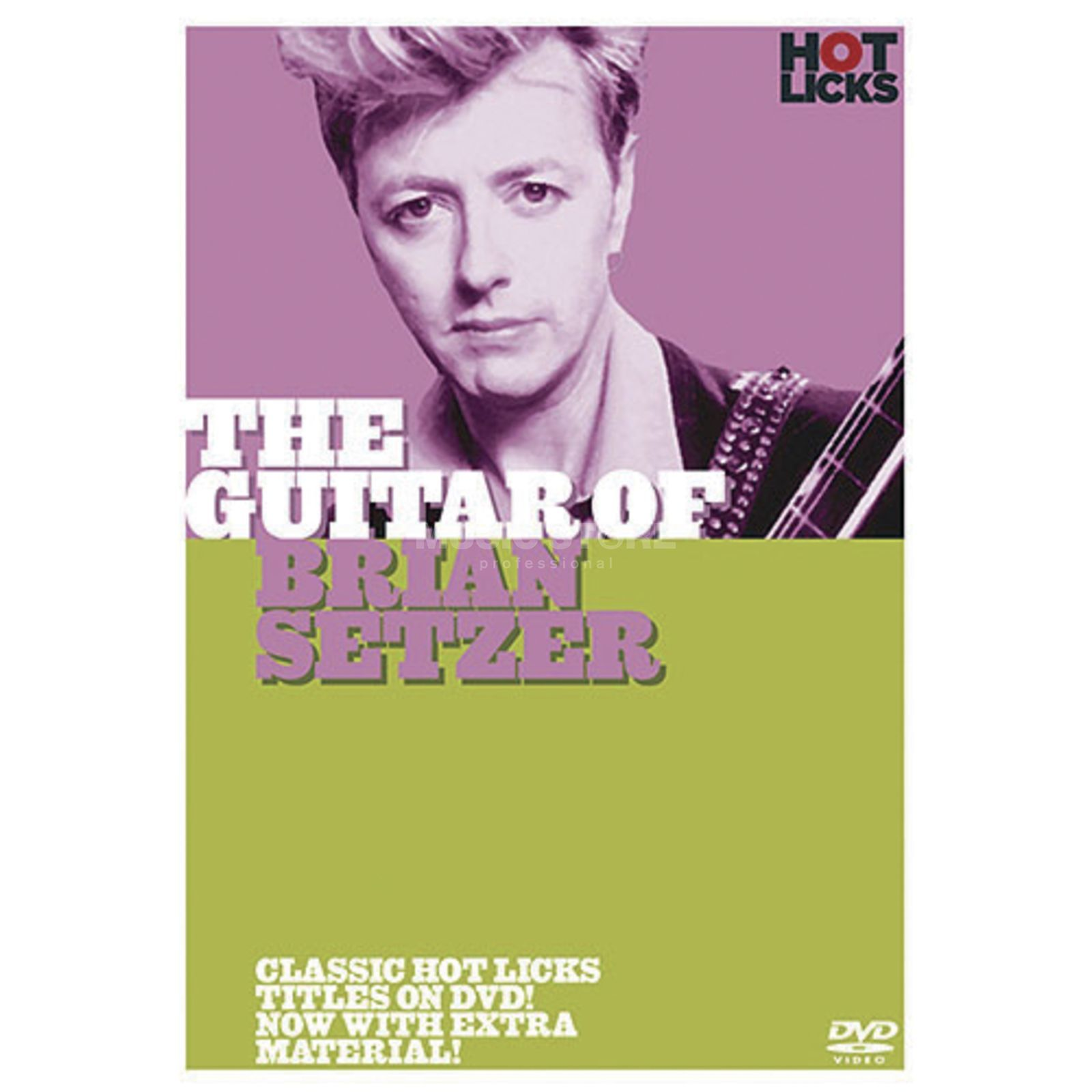 Hotlicks Videos The Guitar Of Brian Setzer Hot Licks, DVD Produktbild