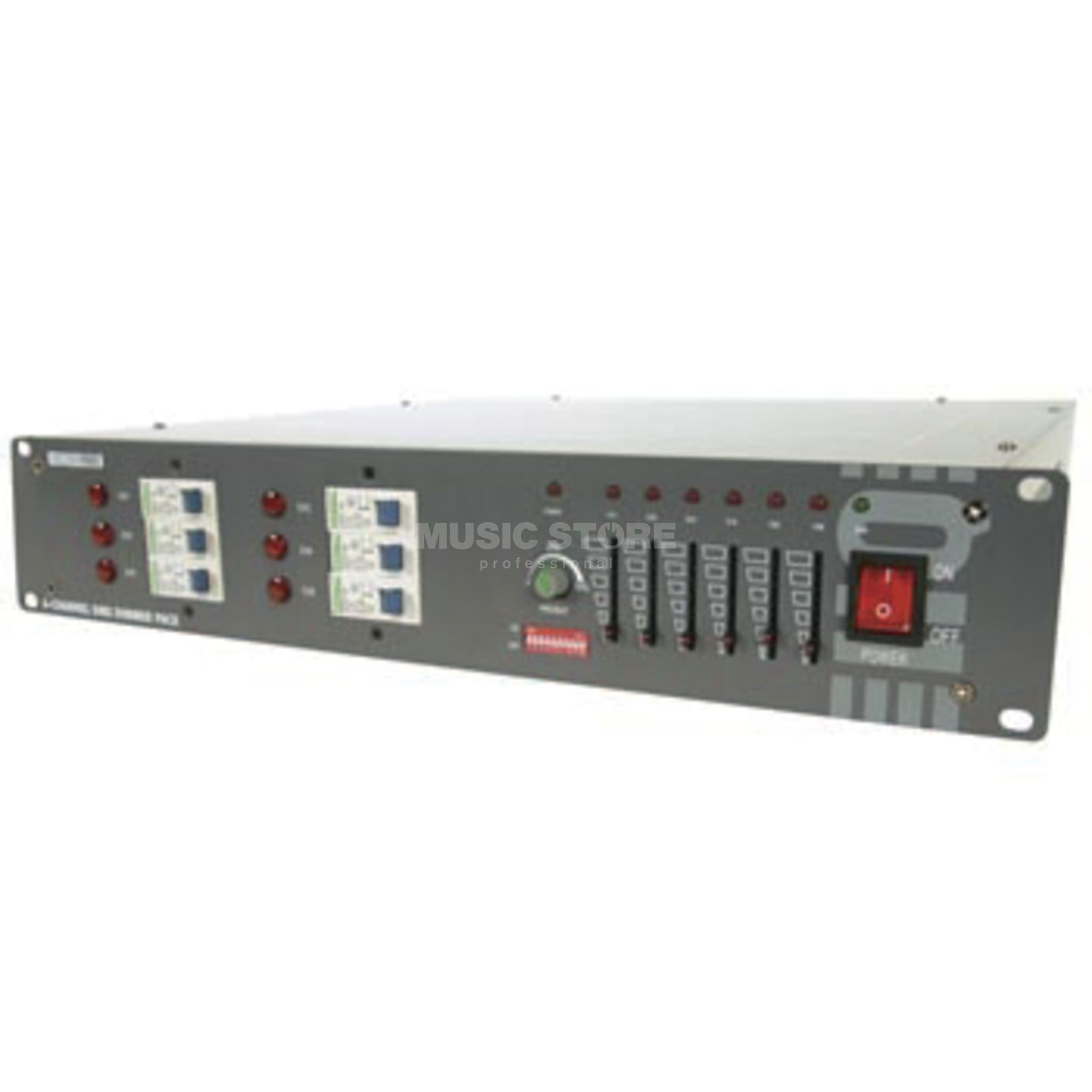 HQ Power 6-channel dimmer pack 6x 10A, schuko connection Produktbillede