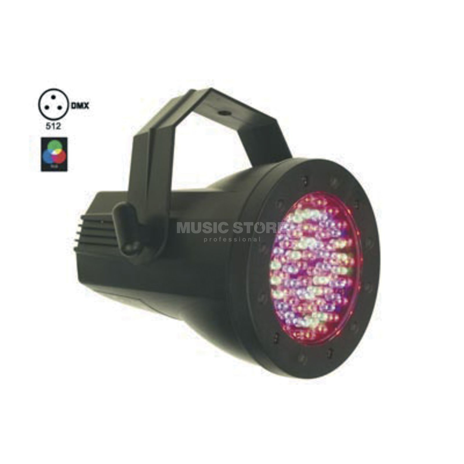 HQ Power PAR 36 LED RGB Spot 76 LEDs Produktbild