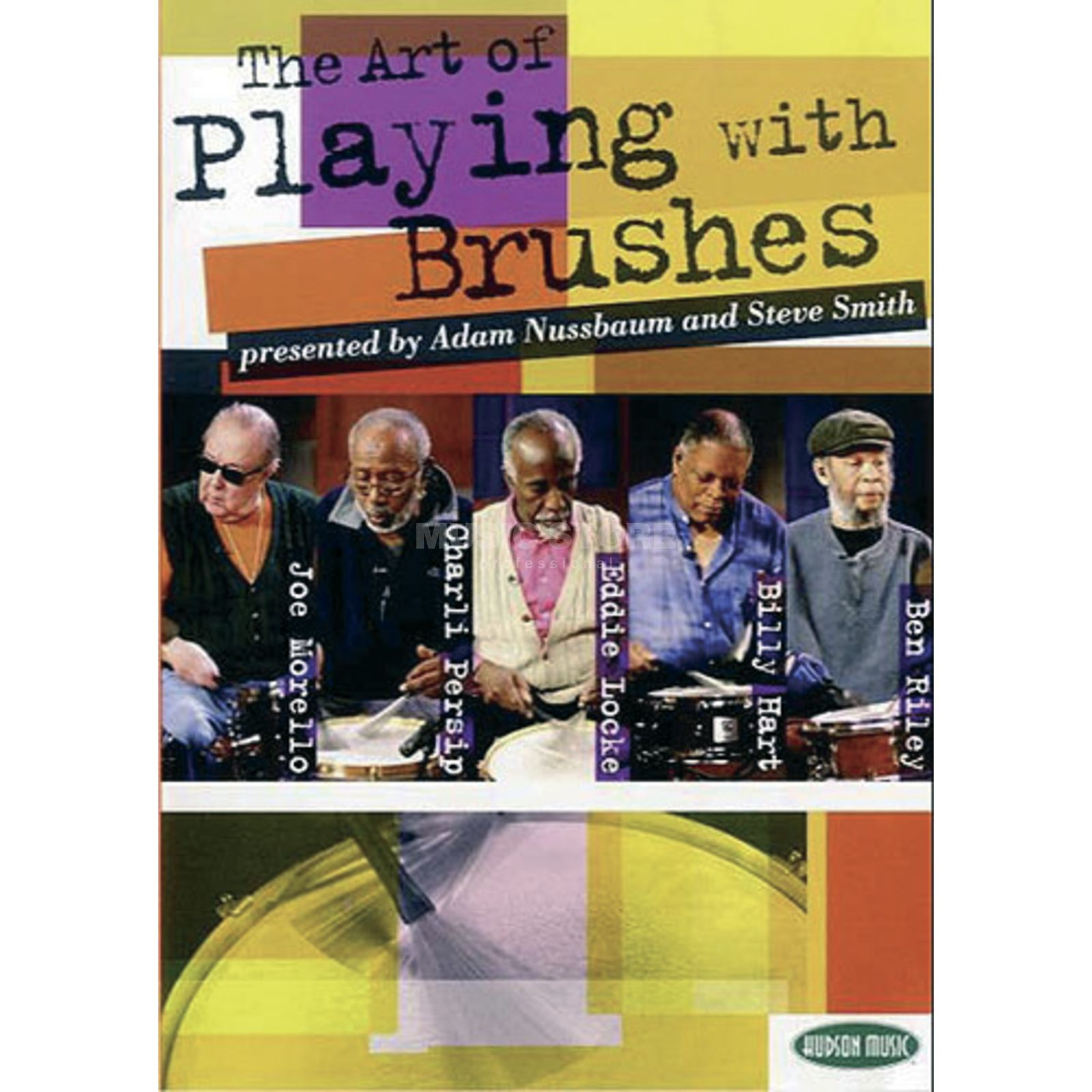 Hudson Music Art Of Playing With Brushes CD and 2 DVDs Produktbillede