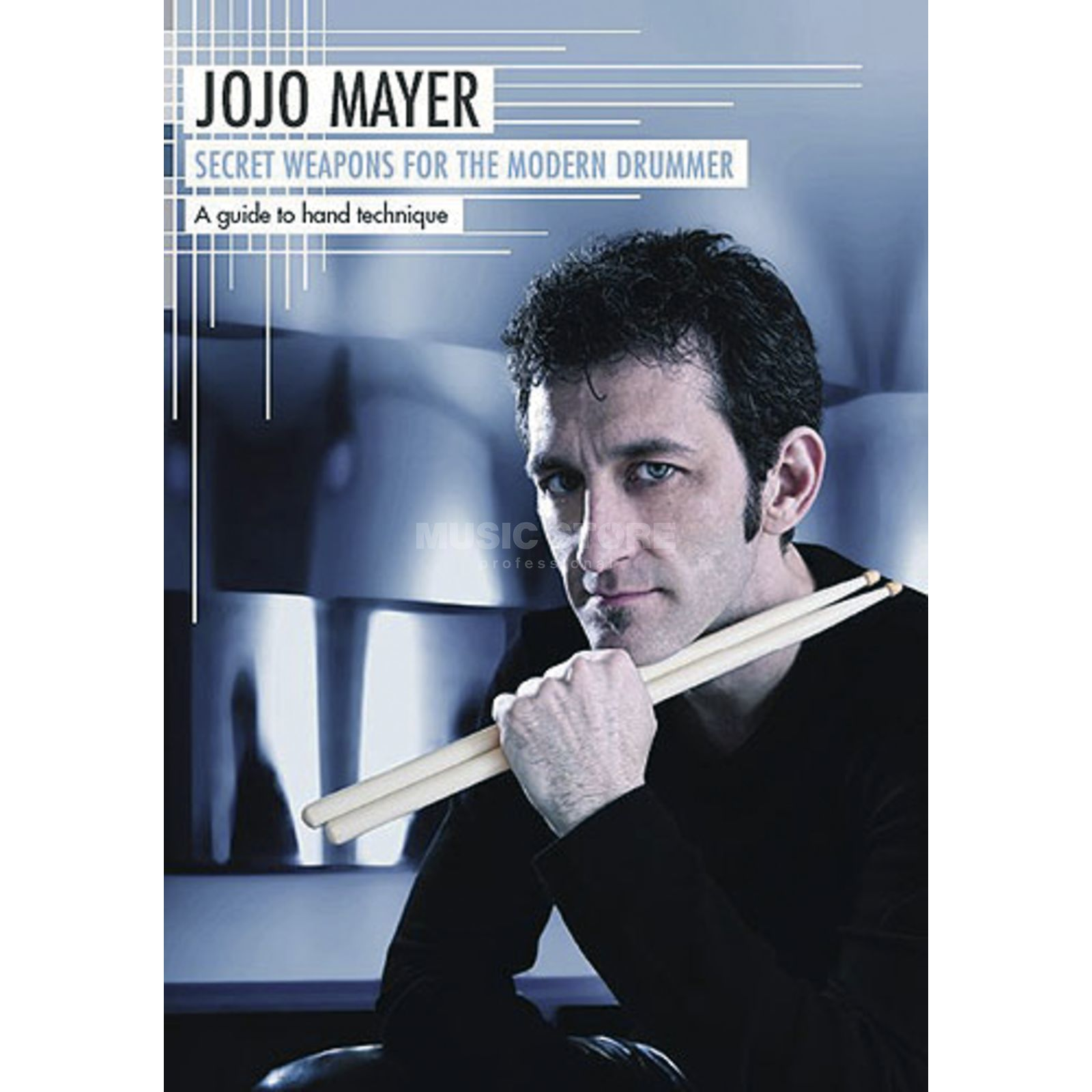 Hudson Music Jojo Mayer - Secret Weapons Handtechnik DVD, DEUTSCH Produktbillede
