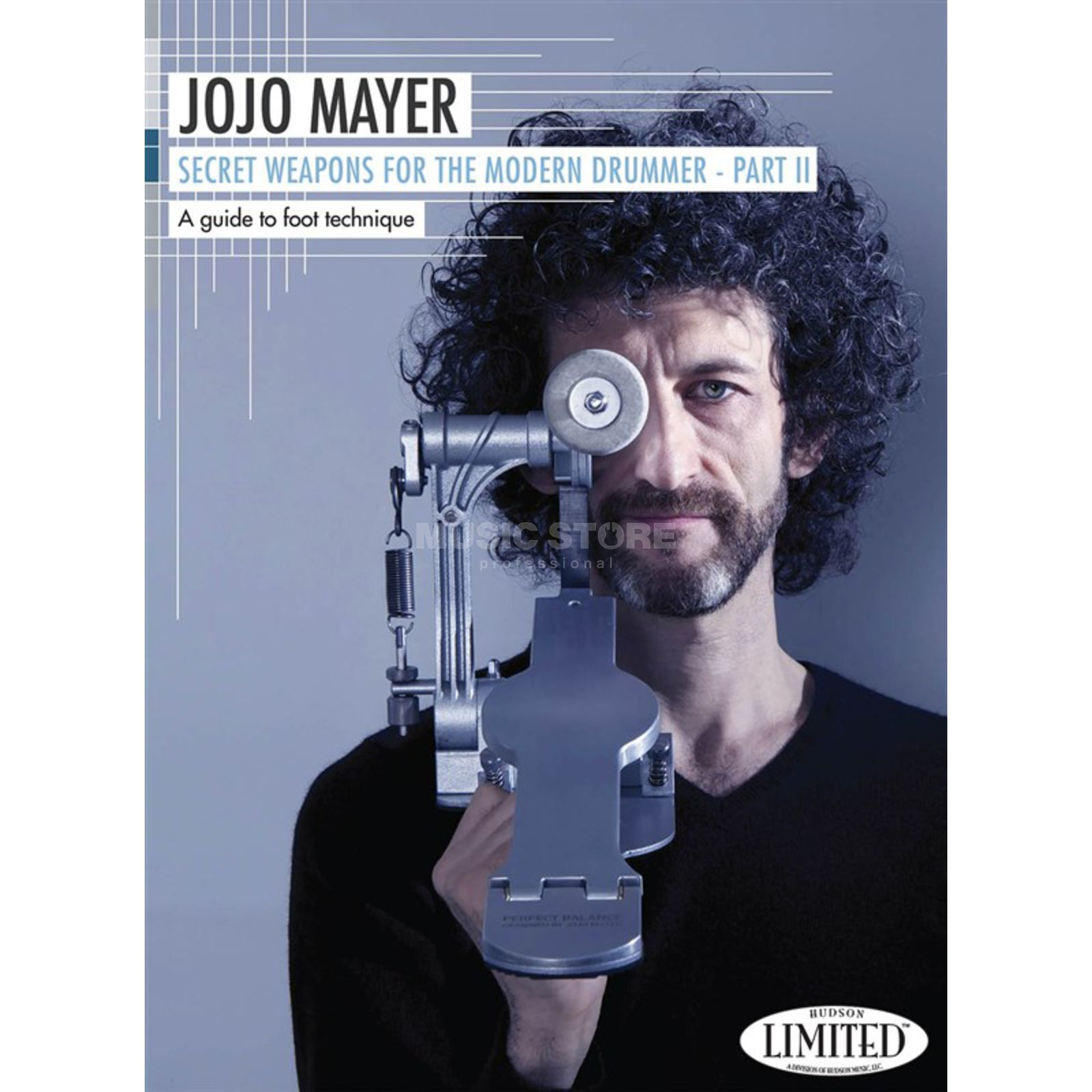 Hudson Music Jojo Mayer - Secret Weapons II Foot Technique DVD, ENGLISH Produktbild