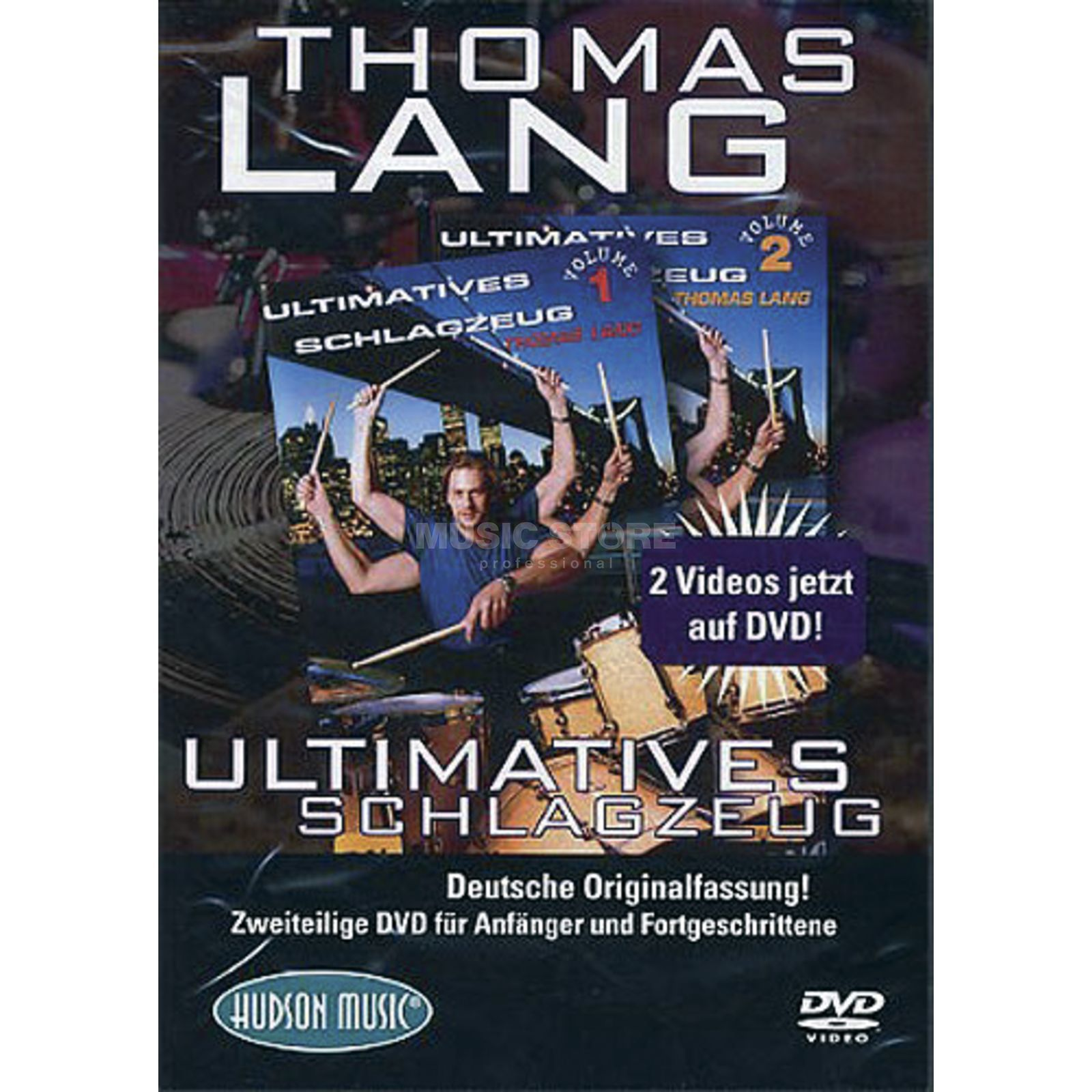Hudson Music Lang - Ultimatives Schlagzeug DVD, DEUTSCH Produktbillede