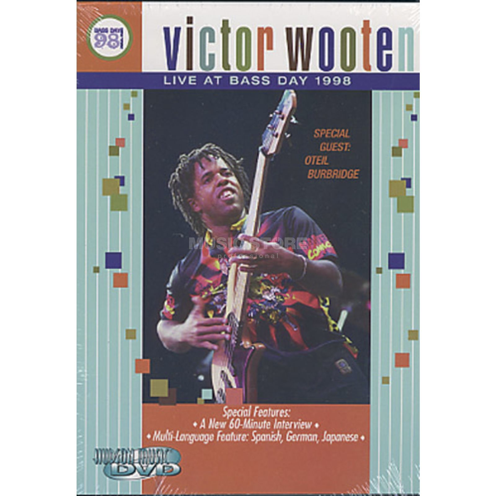 Hudson Music Wooten, V. - Live at bass day  1998 - DVD Edition   Produktbillede