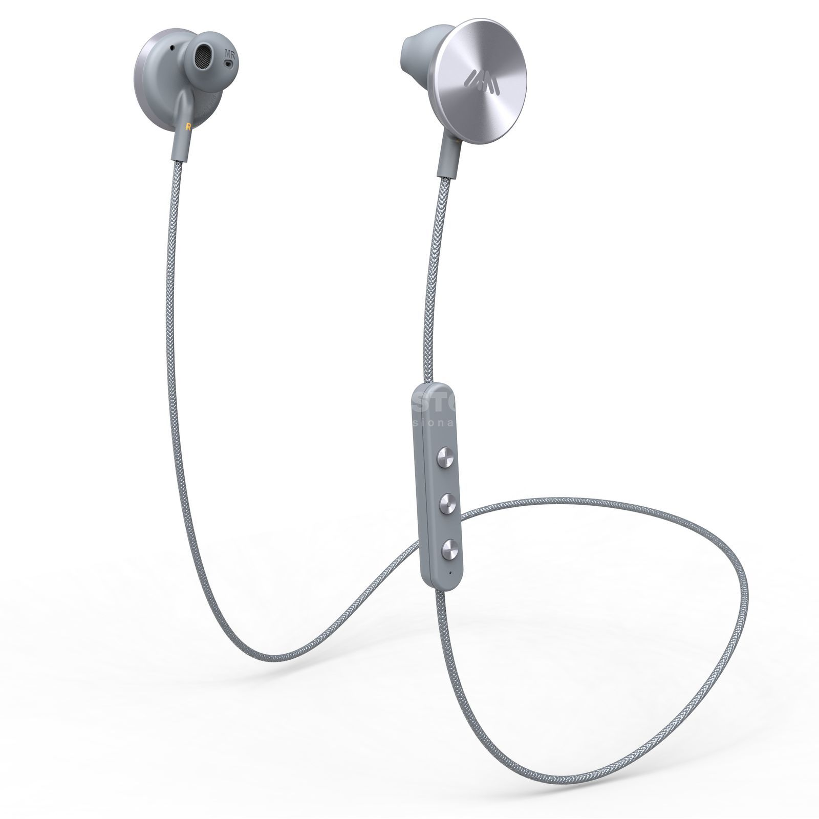 i.am+ Buttons BT Headphones Grey Product Image