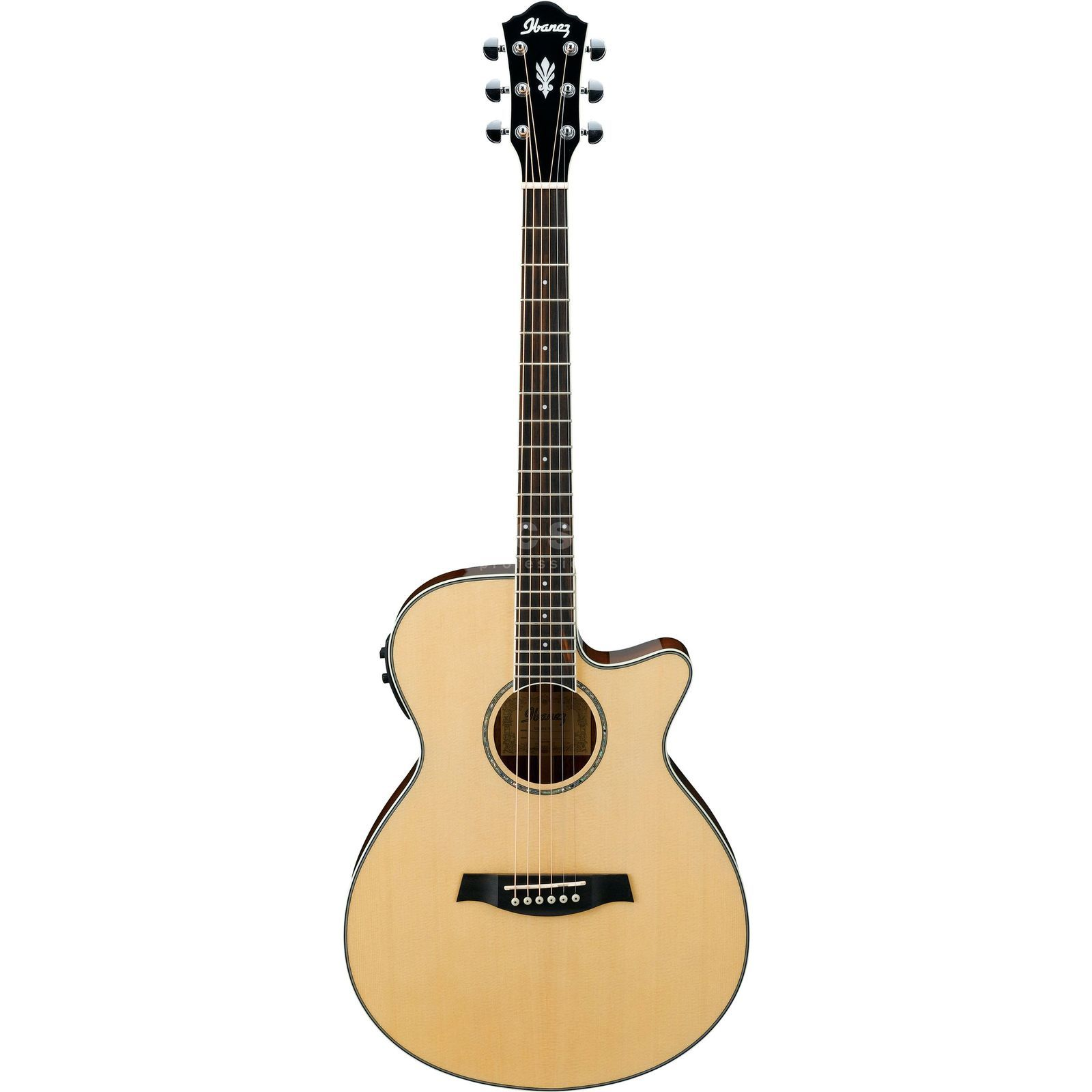 Ibanez AEG10II-NT Natural High Gloss Produktbild