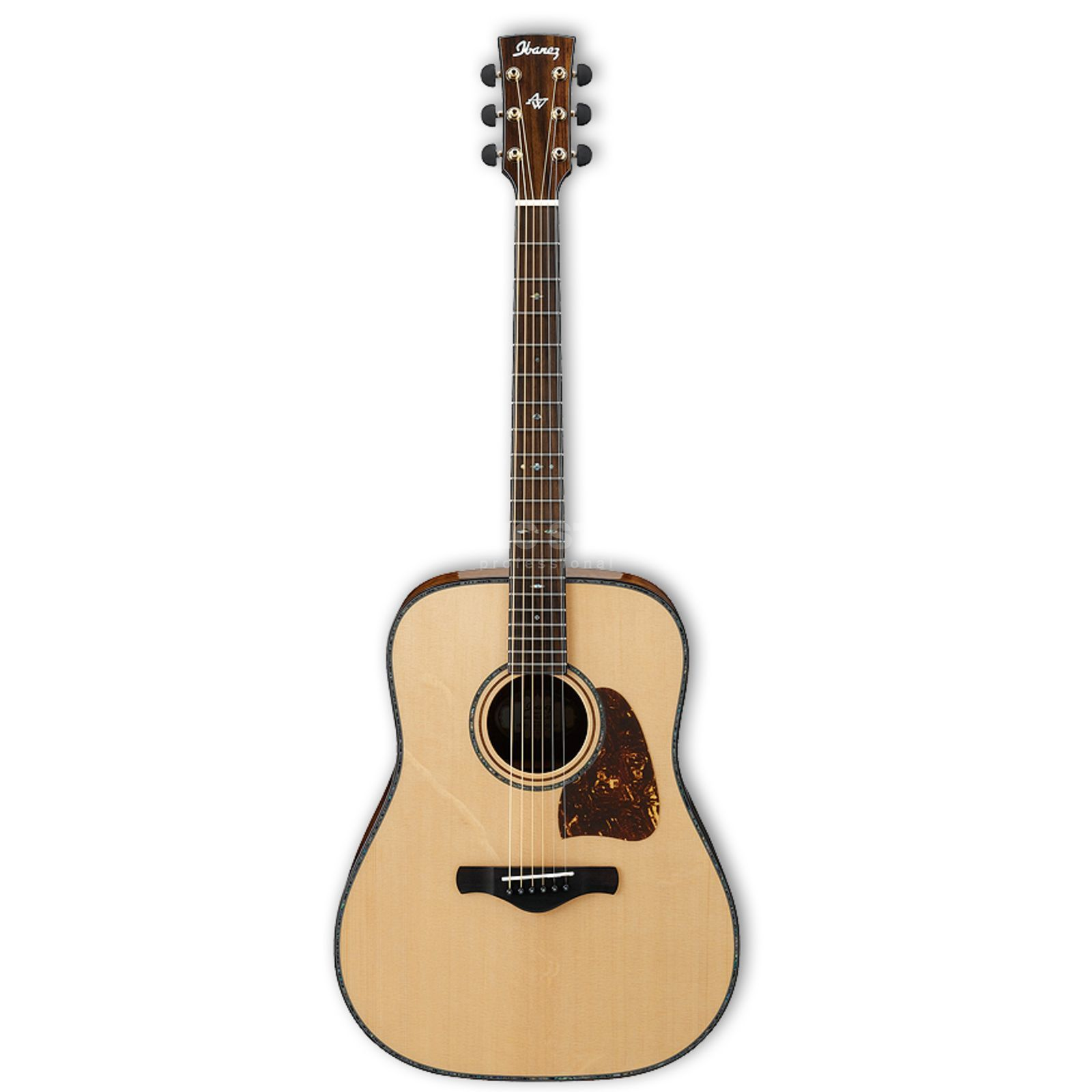Ibanez Artwood AW500 Hawaiian Koa Natural Produktbillede