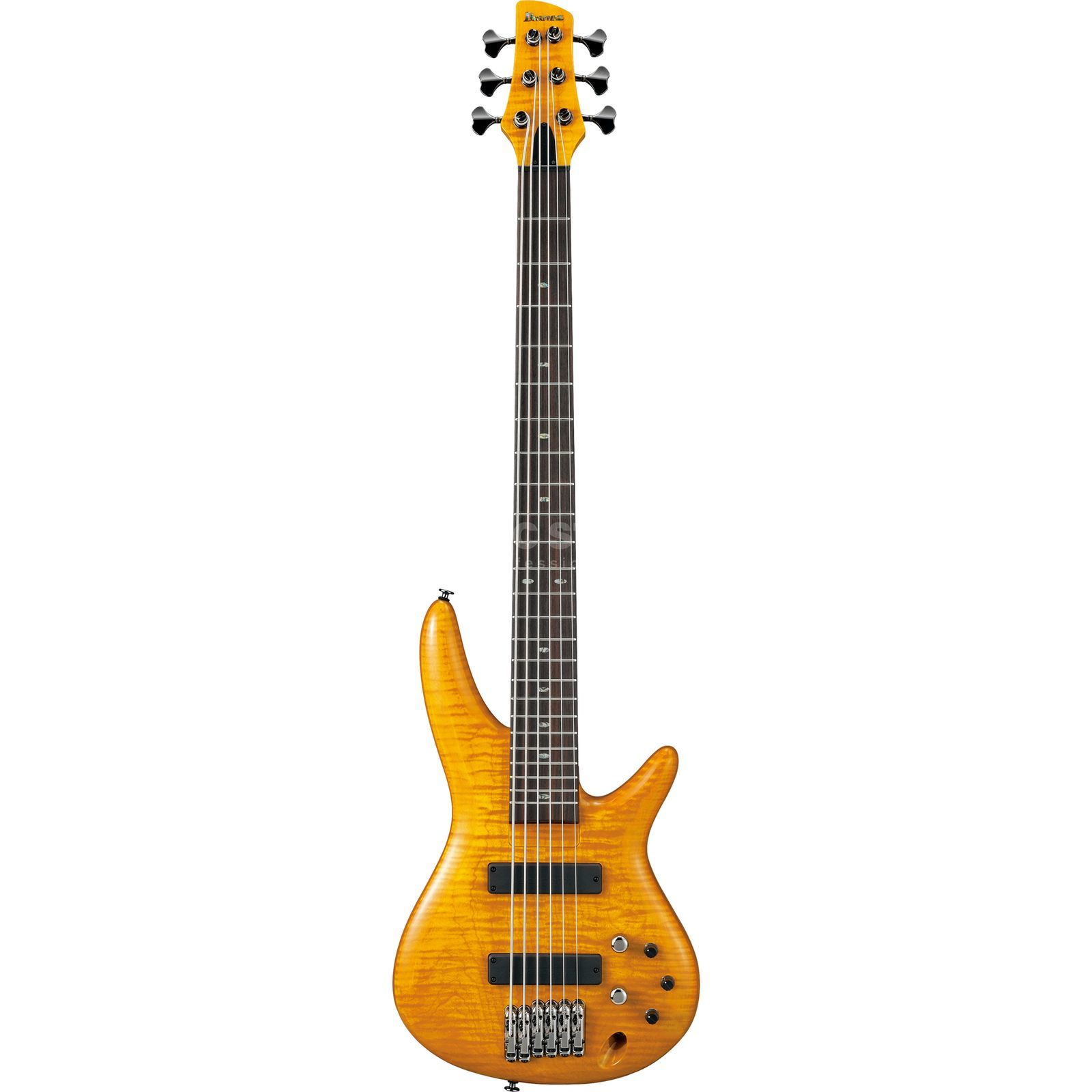 Ibanez AS GVB 1006 Gerald Veasley Amber Produktbild