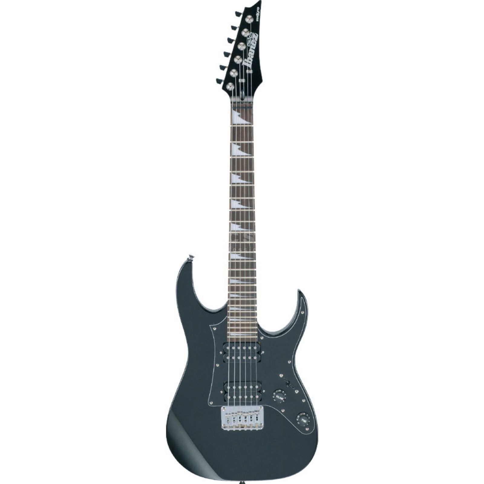 Ibanez GRGM21 Micro Electric Guitar,  Black Night   Produktbillede