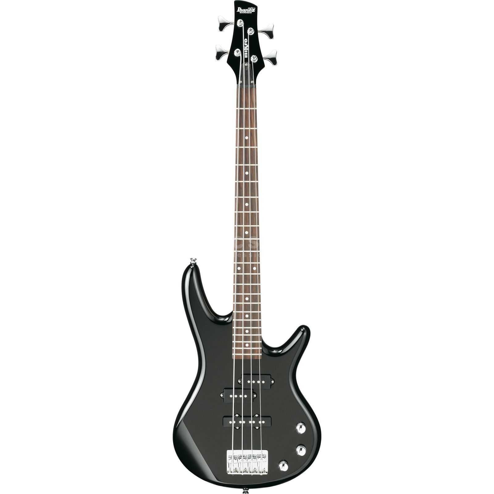 Ibanez GSRM20 Mini Bass Guitar, Black    Изображение товара