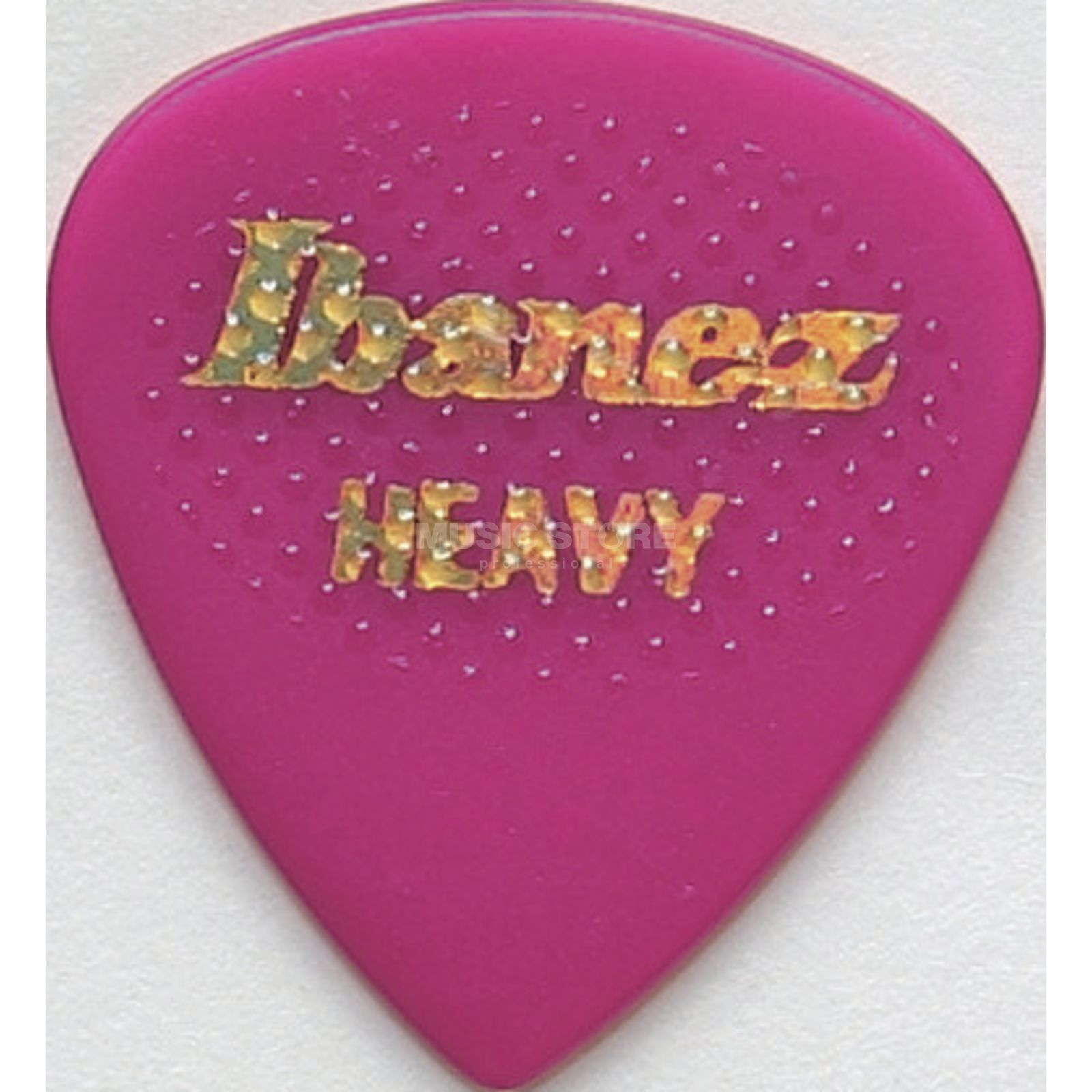 Ibanez Guitar Pick BPA16HR-RD,6-Pack heavy rubber,Grip Wizard,red Produktbillede
