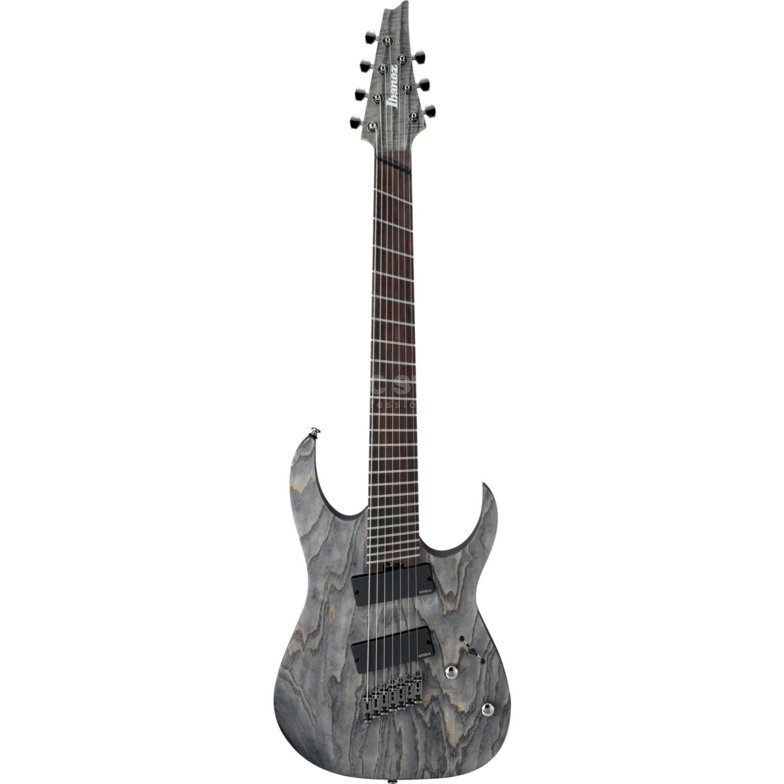 Ibanez Iron Label RGIF7-BKS 7-String Black Stained Fanned Fret Produktbild