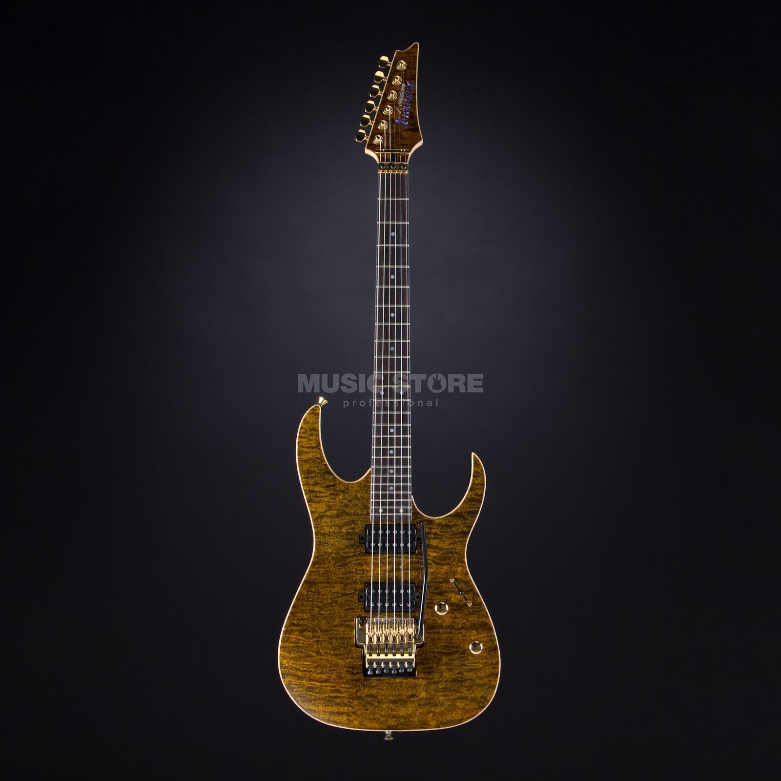 Ibanez j.custom JCRG11R-GTE Golden Tiger Eye Product Image