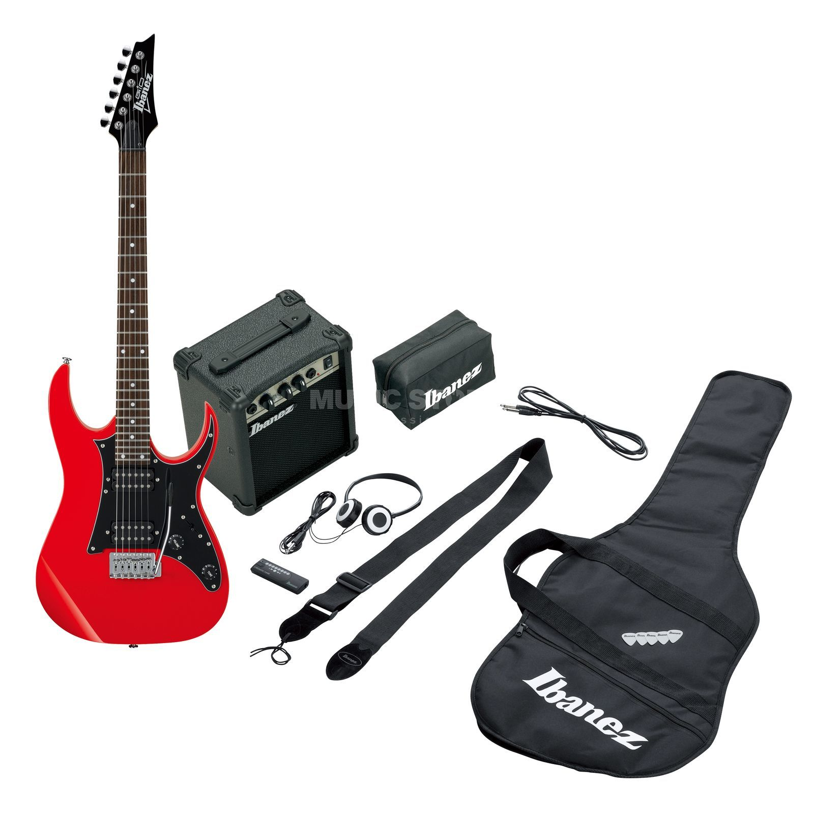 Ibanez Jumpstart Package IJRG200-RD Red Produktbild