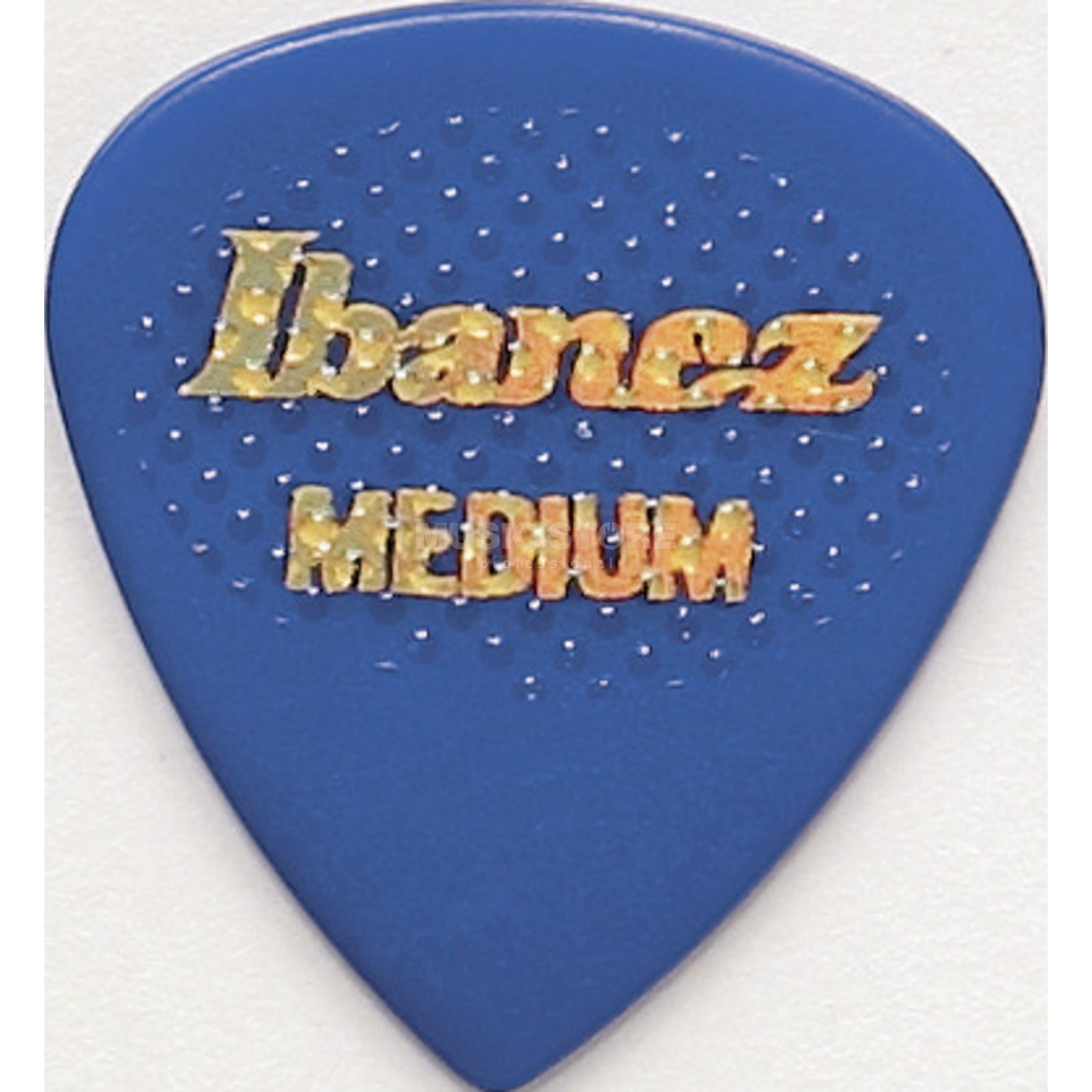 Ibanez Plektrum BPA16MR-BL,6er-Set medium rubber,Grip Wizard,blau Produktbild
