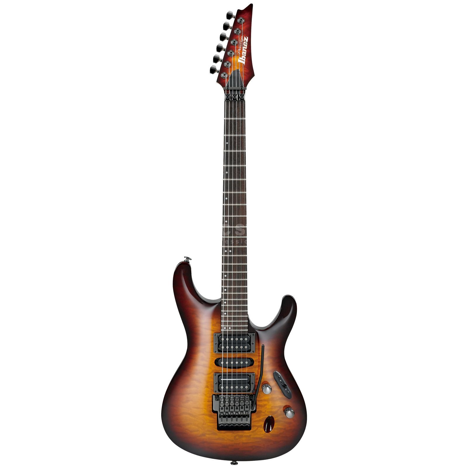 Ibanez Prestige S5570Q-RBB Regal Brown Burst Produktbild