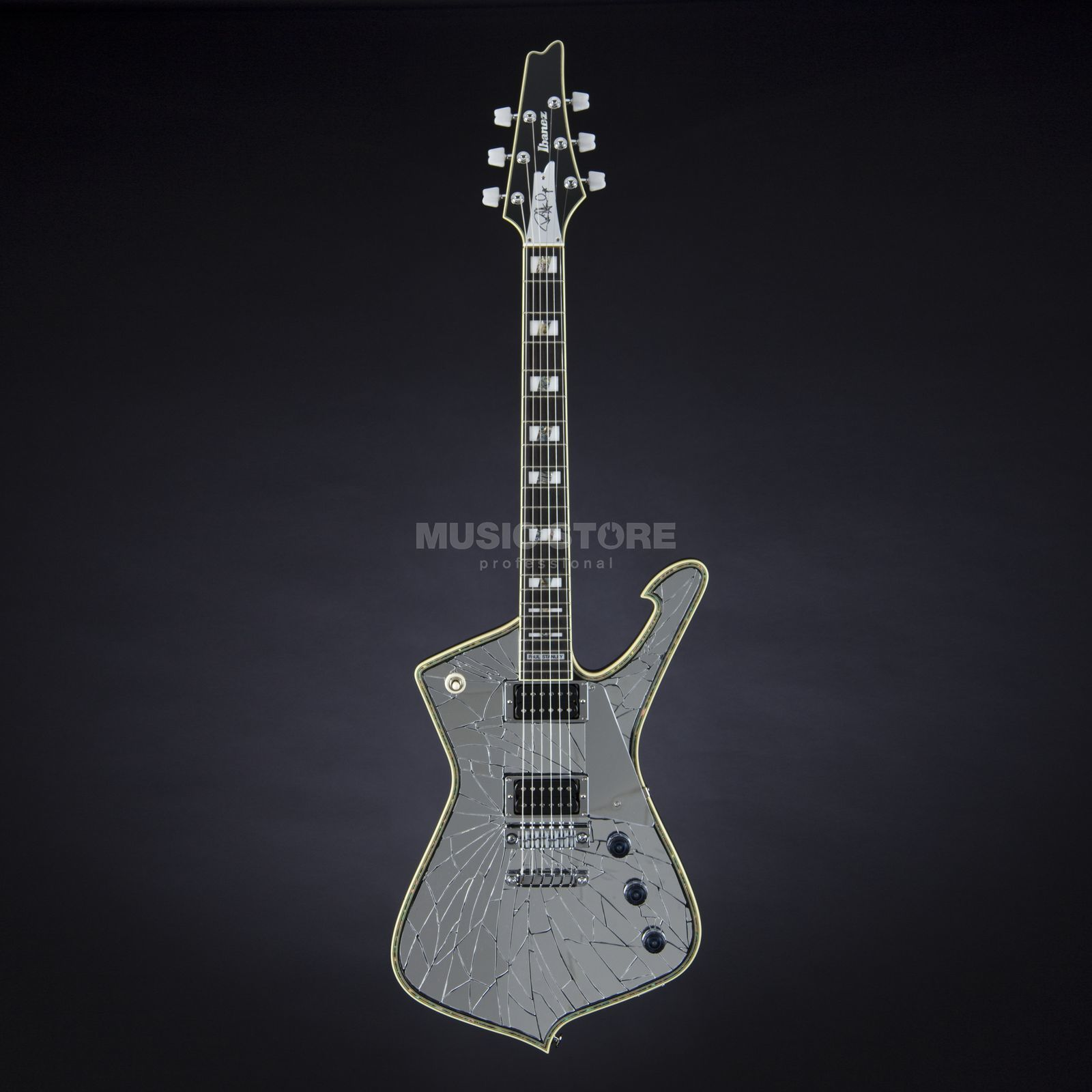 Ibanez PS1CM Paul Stanley Signature Cracked Mirror Produktbillede