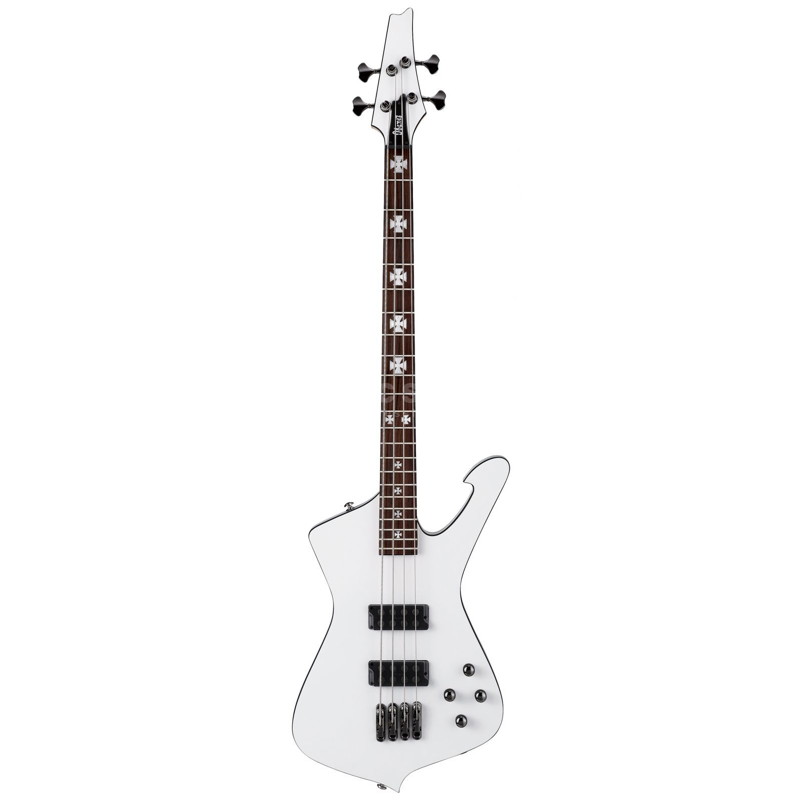Ibanez SDB 2 Sharlee D'Angelo White Flat B-Stock Product Image