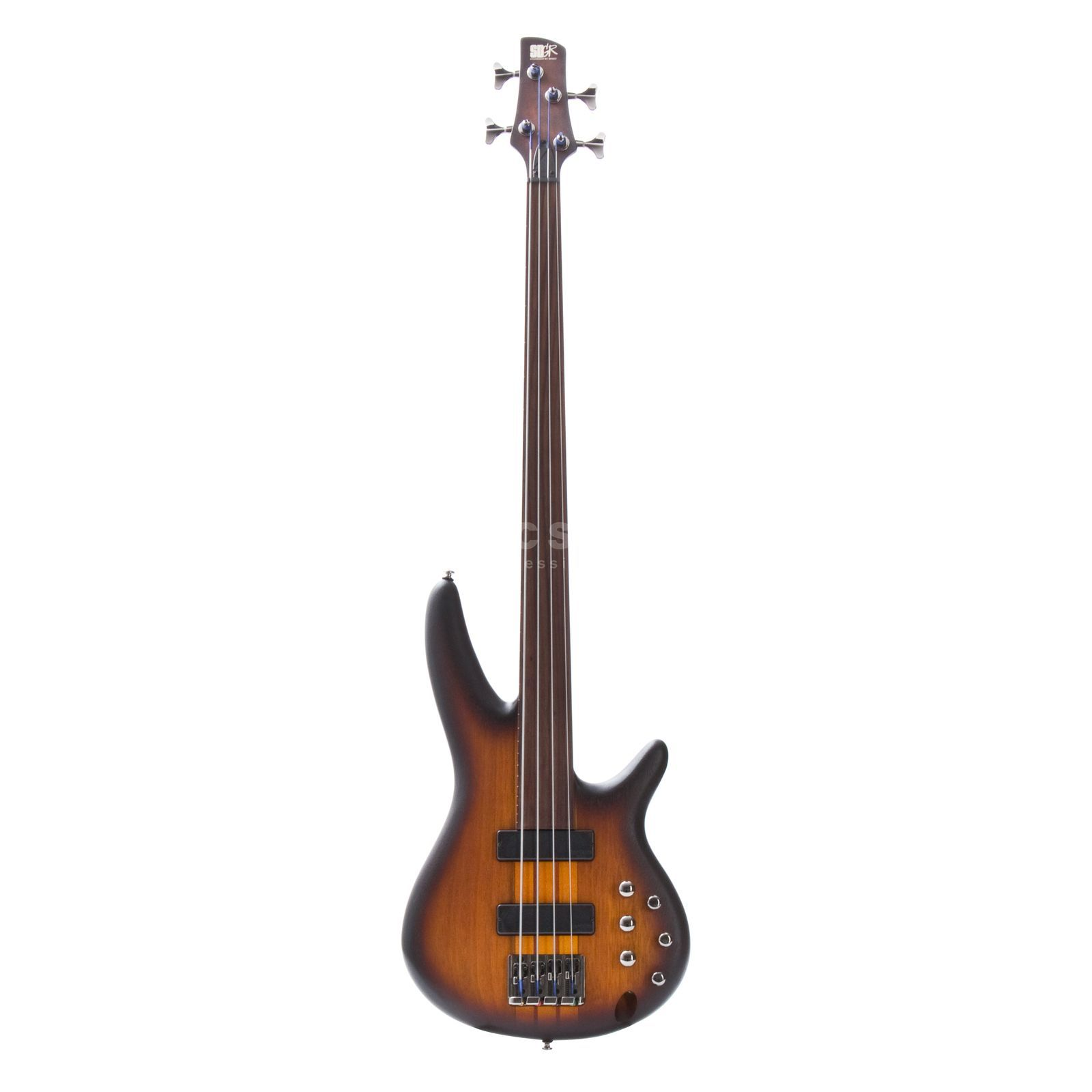 Ibanez SRF 700 BBF Fretless Brown Burst Flat Изображение товара