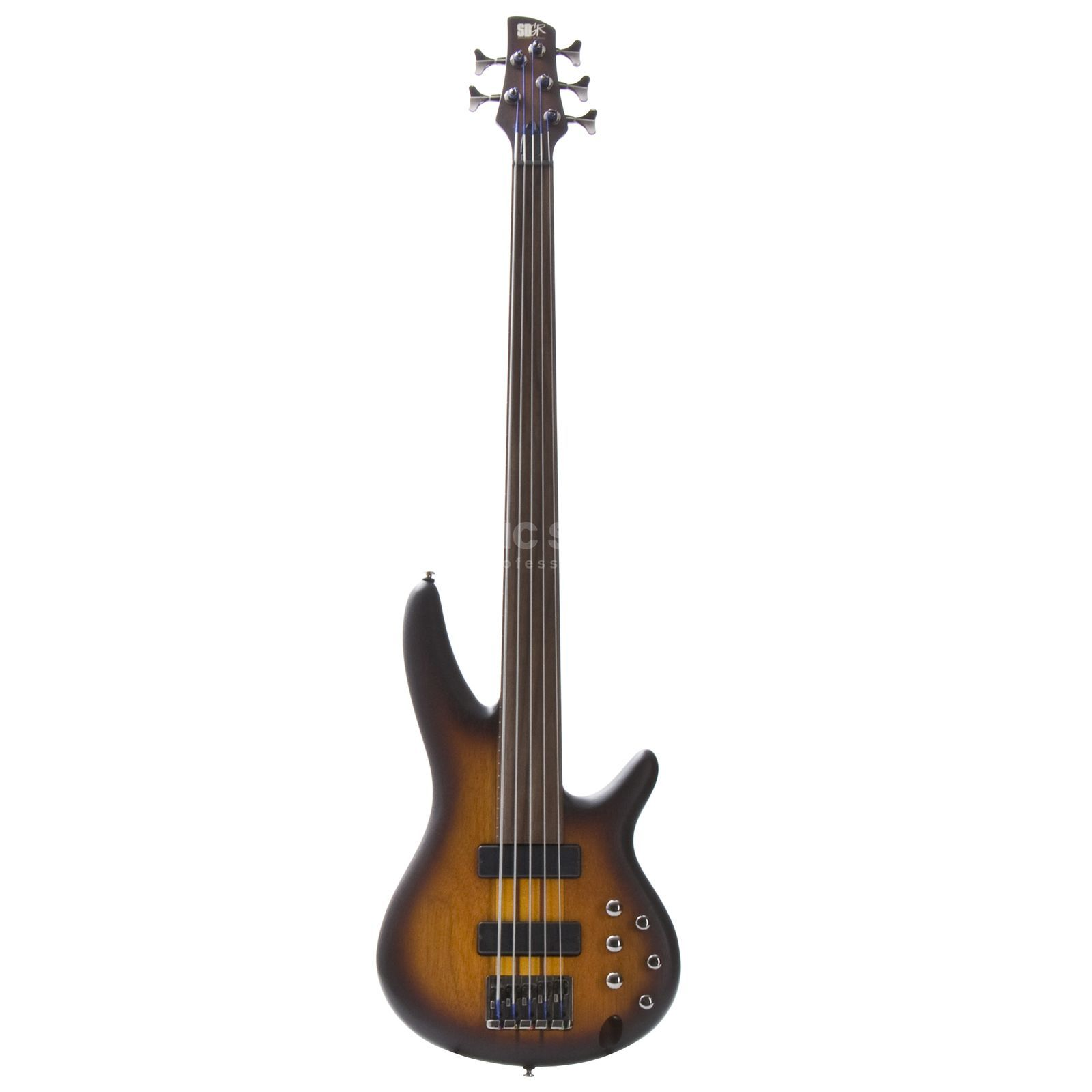 Ibanez SRF 705 BBF Fretless Brown Burst Flat Изображение товара