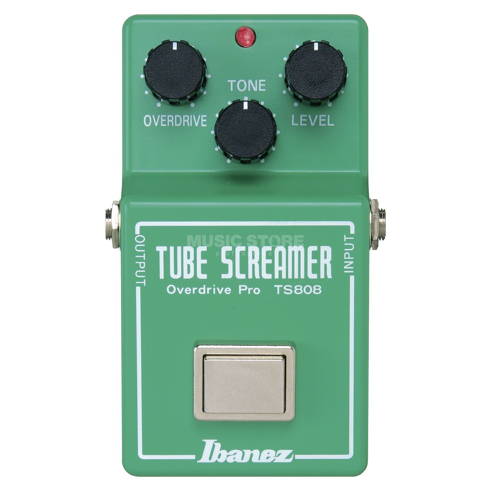 Ibanez ts808 tube screamer reissue vintage overdrive pedal