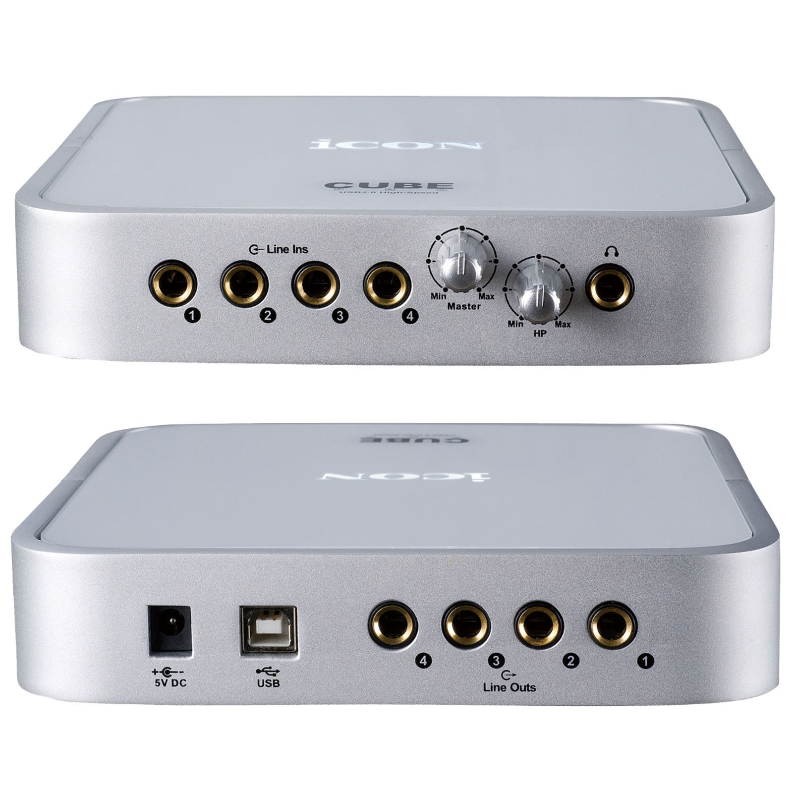 iCON Cube Pro 4-In/4-Out USB Interface Produktbild