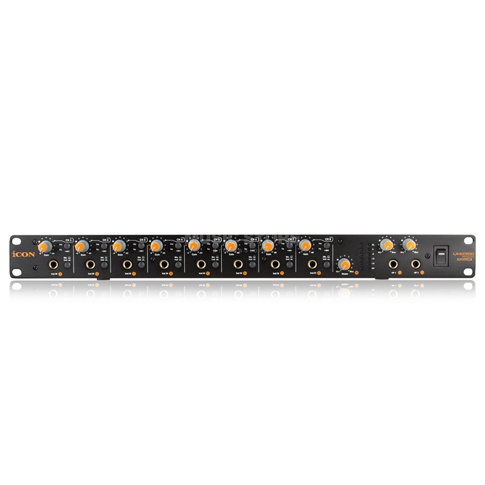 iCON Umix 1010 Rack 10-In/10-Out USB-Interface Product Image