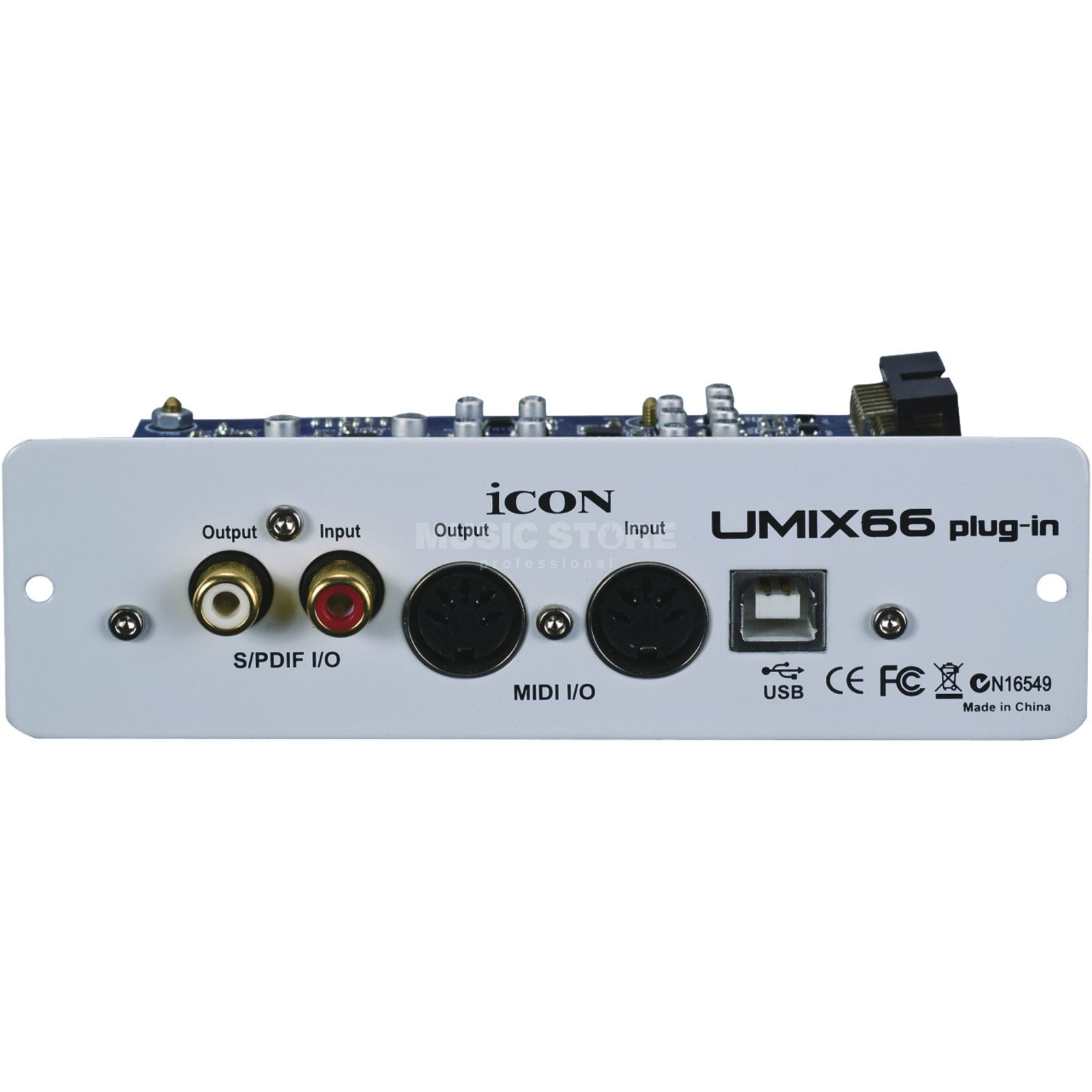 iCON Umix66 USB Expansion Card 6In/6Out + MIDI für Umix Mixer Image du produit