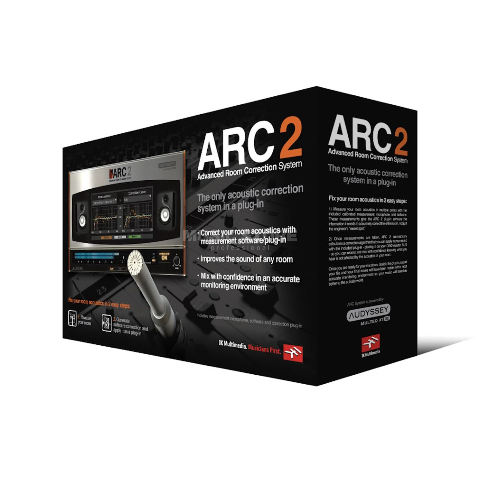 IK Multimedia ARC 2 - Advanced Room Correction System Produktbild