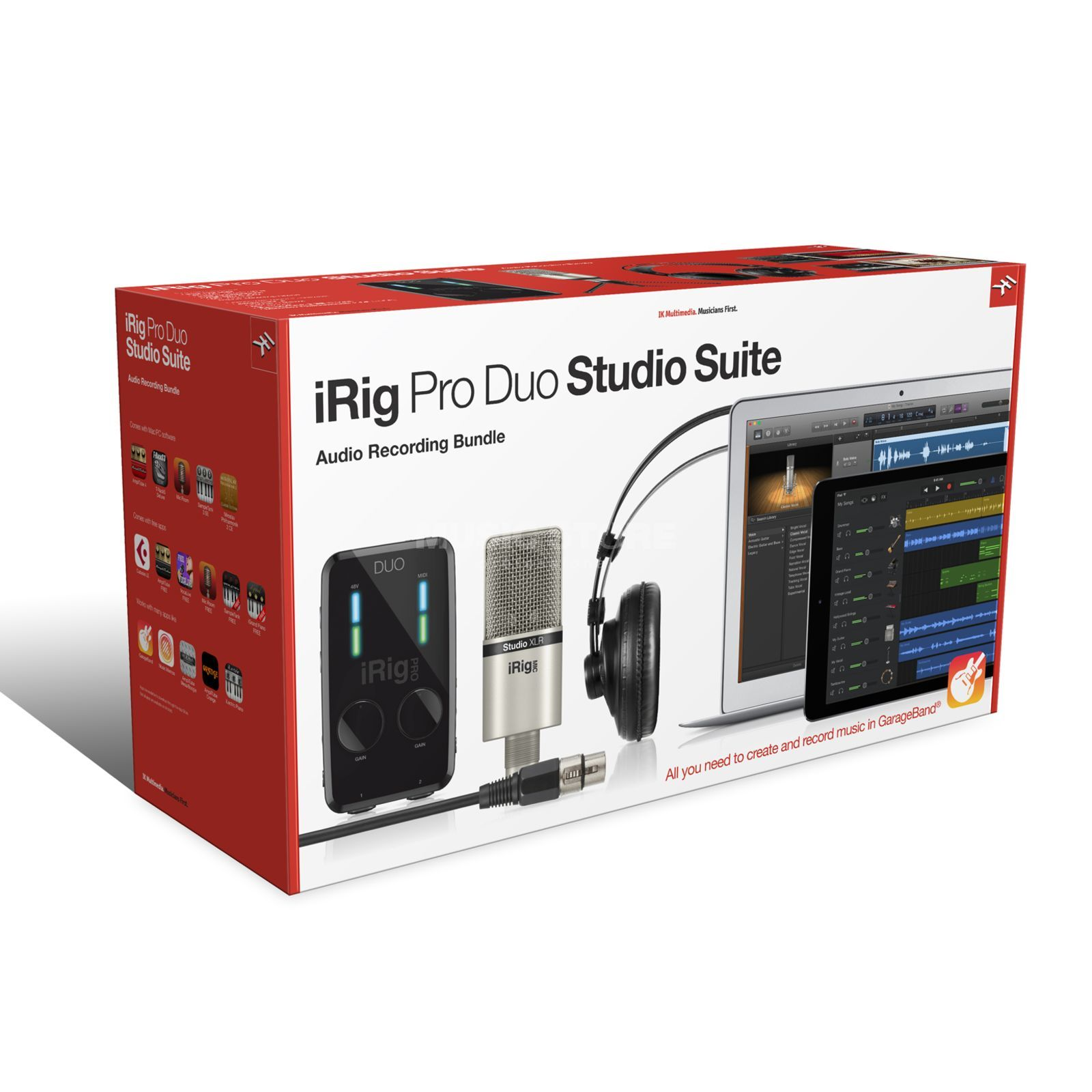 IK Multimedia iRig Pro Studio Suite Recording-Bundle Produktbild