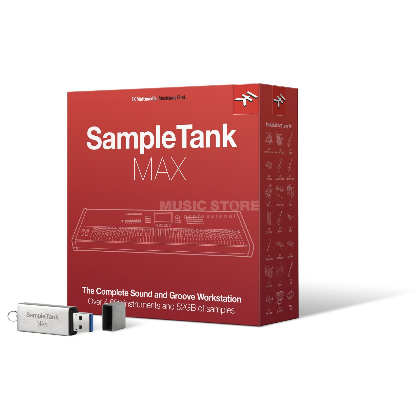 IK Multimedia Sample Tank MAX Product Image