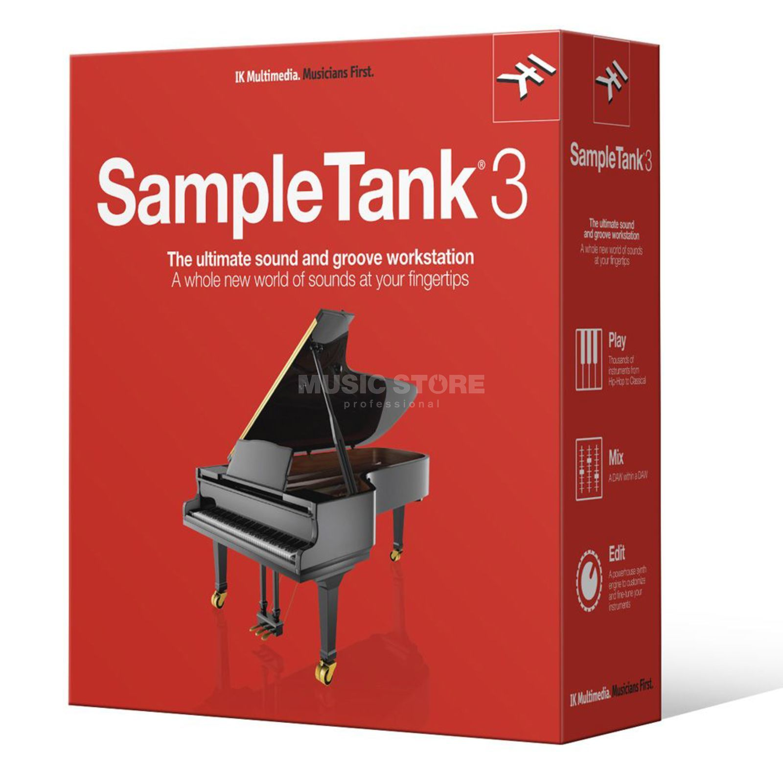 IK Multimedia SampleTank 3 Upgrade boxed Produktbillede