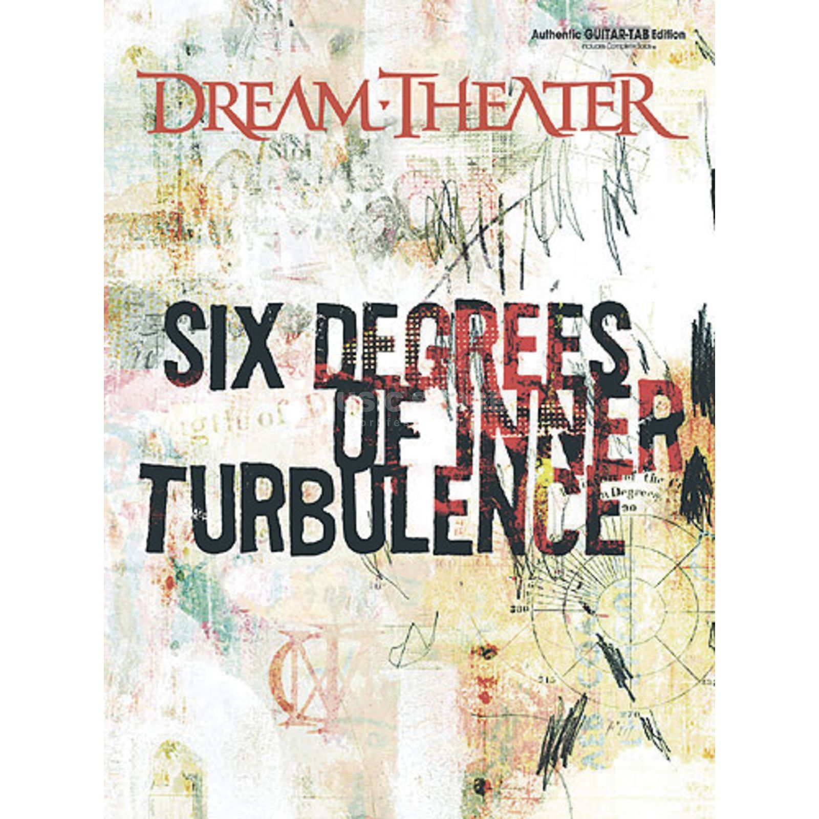 IMP Warner Dream Theater - Six degrees of inner turbulence TAB Produktbild