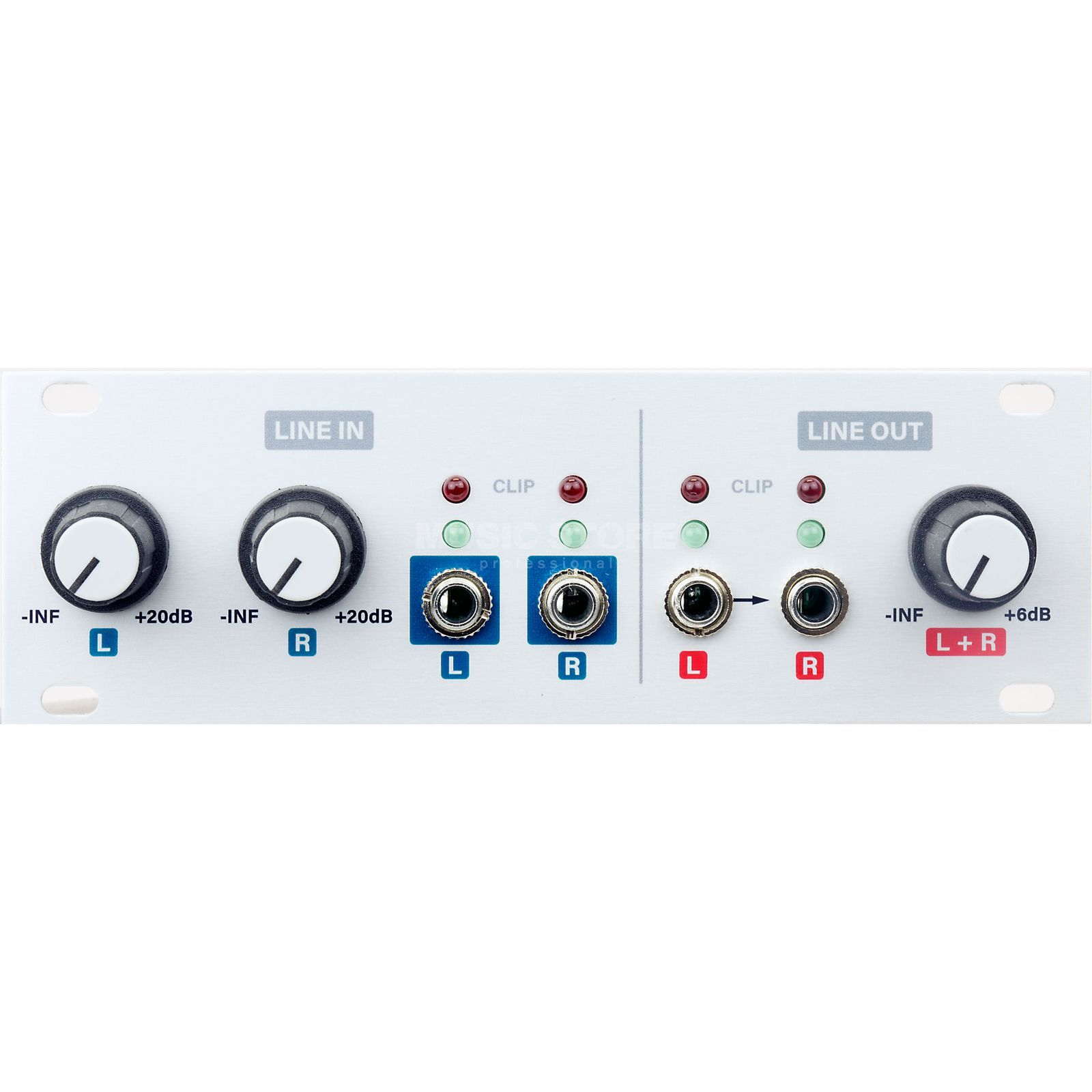 Intellijel Audio I/O _1U Product Image
