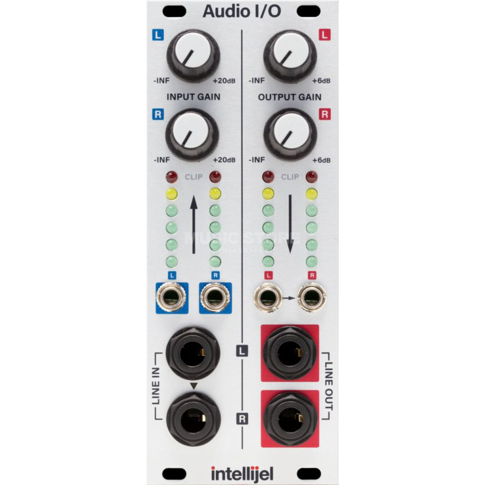 Intellijel Audio Interface II Eurorack to Balanced Pro Level Produktbild