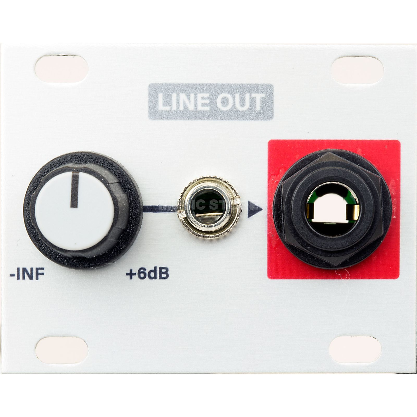 Intellijel Line Out_1U Eurorack level to line level Produktbillede