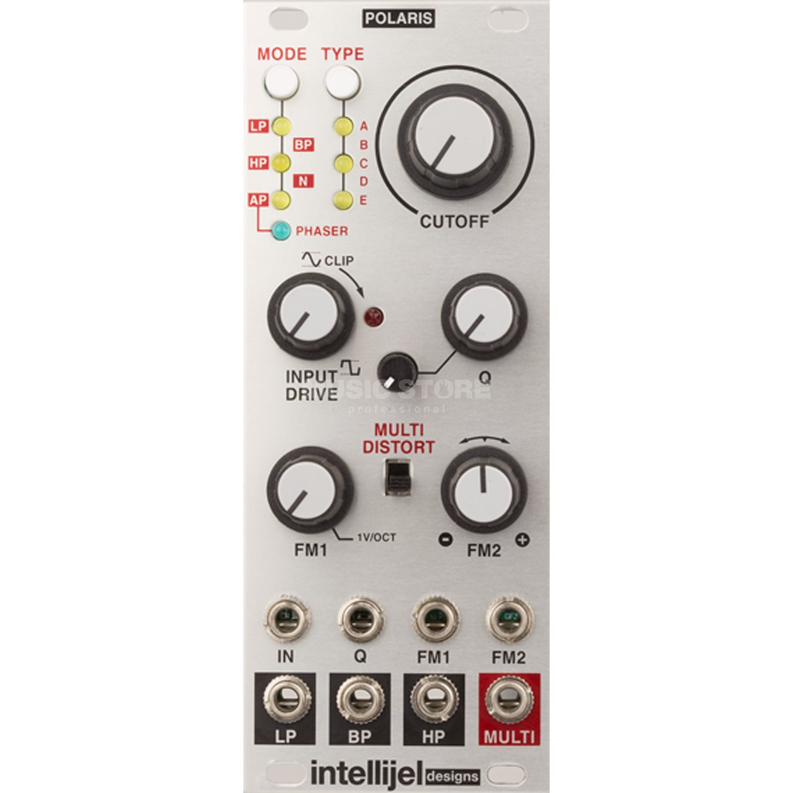Intellijel Polaris Multimode VCF + Phaser Produktbild