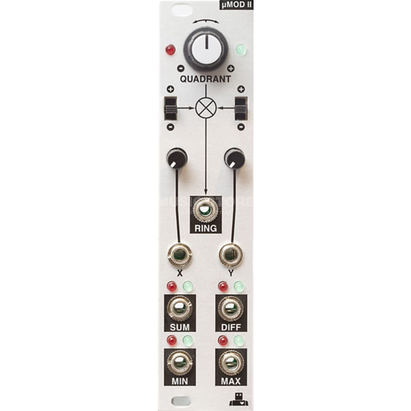 Intellijel uMod II Ring Modulator / Analog Logic Produktbild