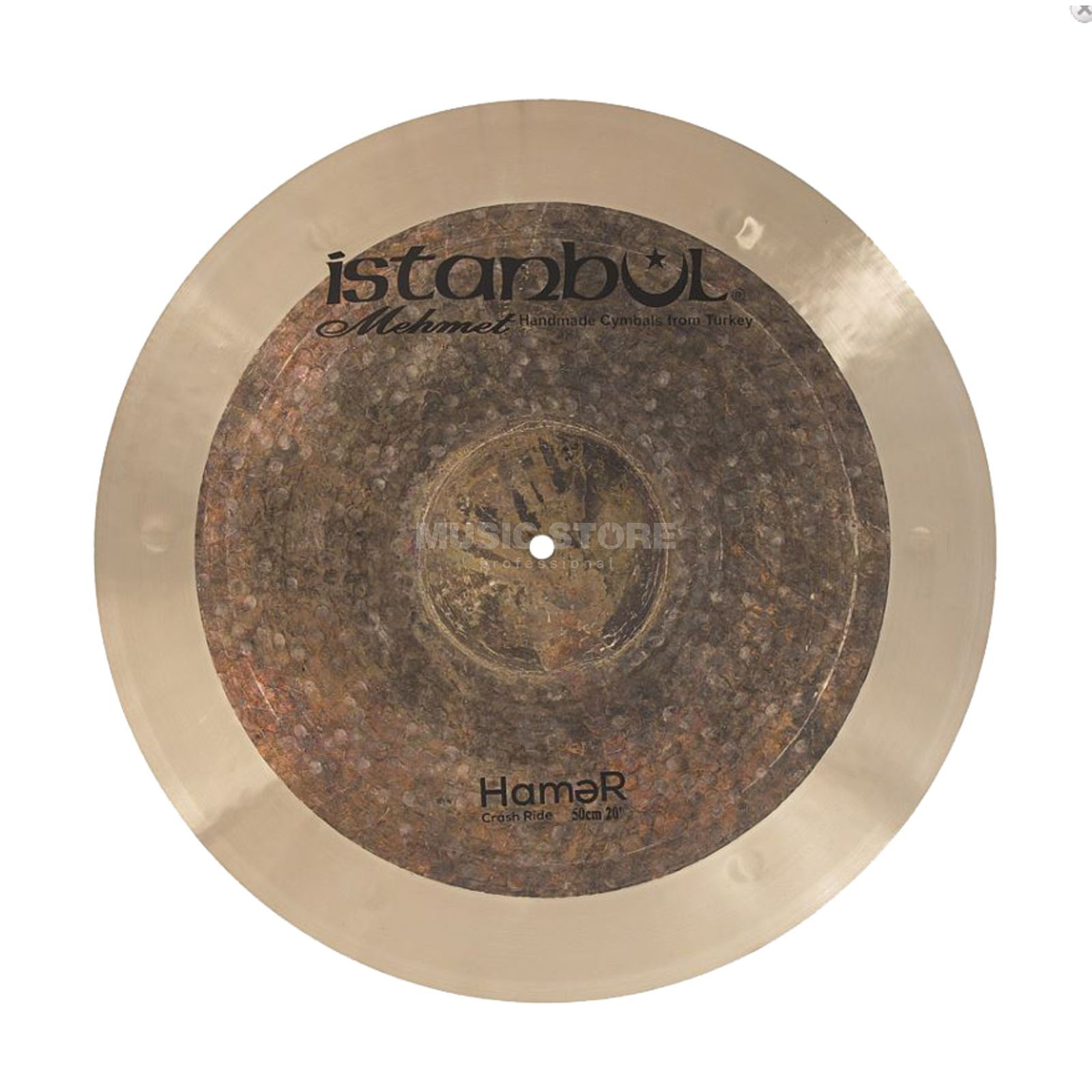 "Istanbul Hamer Crash-Ride 20"" (Natural) Product Image"