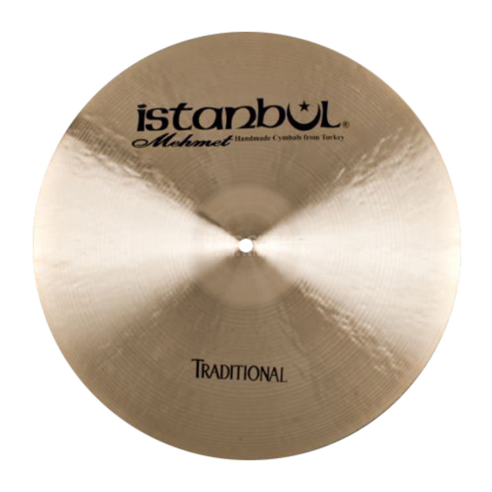 "Istanbul Traditional Dark Crash 18"", CD19 Produktbillede"