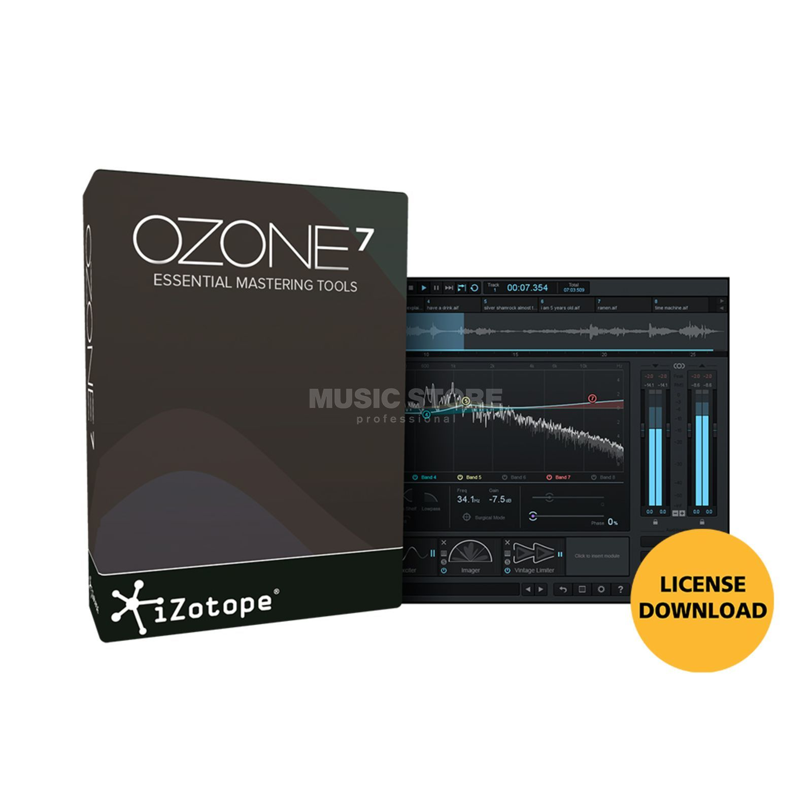 iZotope Ozone 7 (CODE) Software Download Produktbild