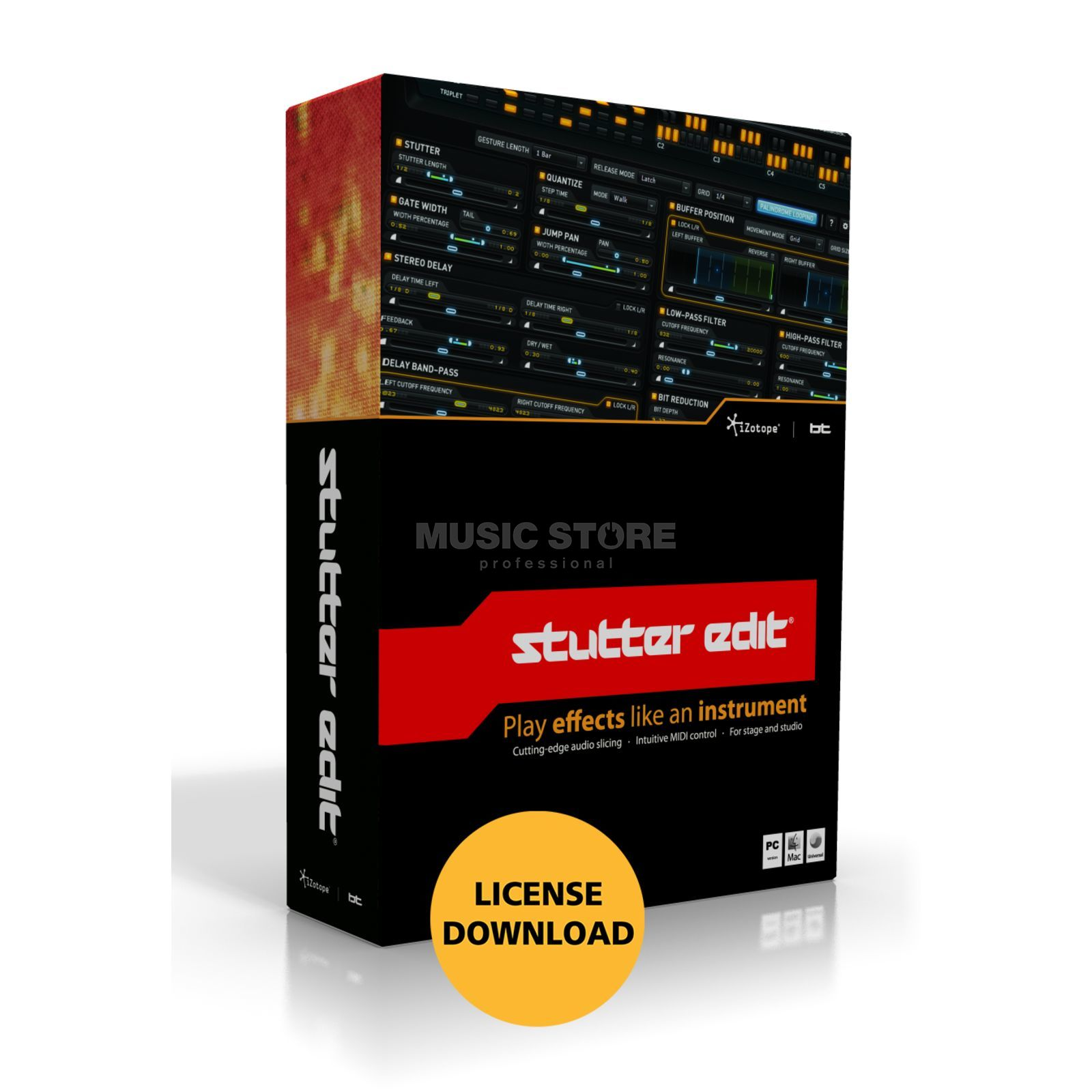 iZotope Stutter Edit BreakTweake License Code Produktbild