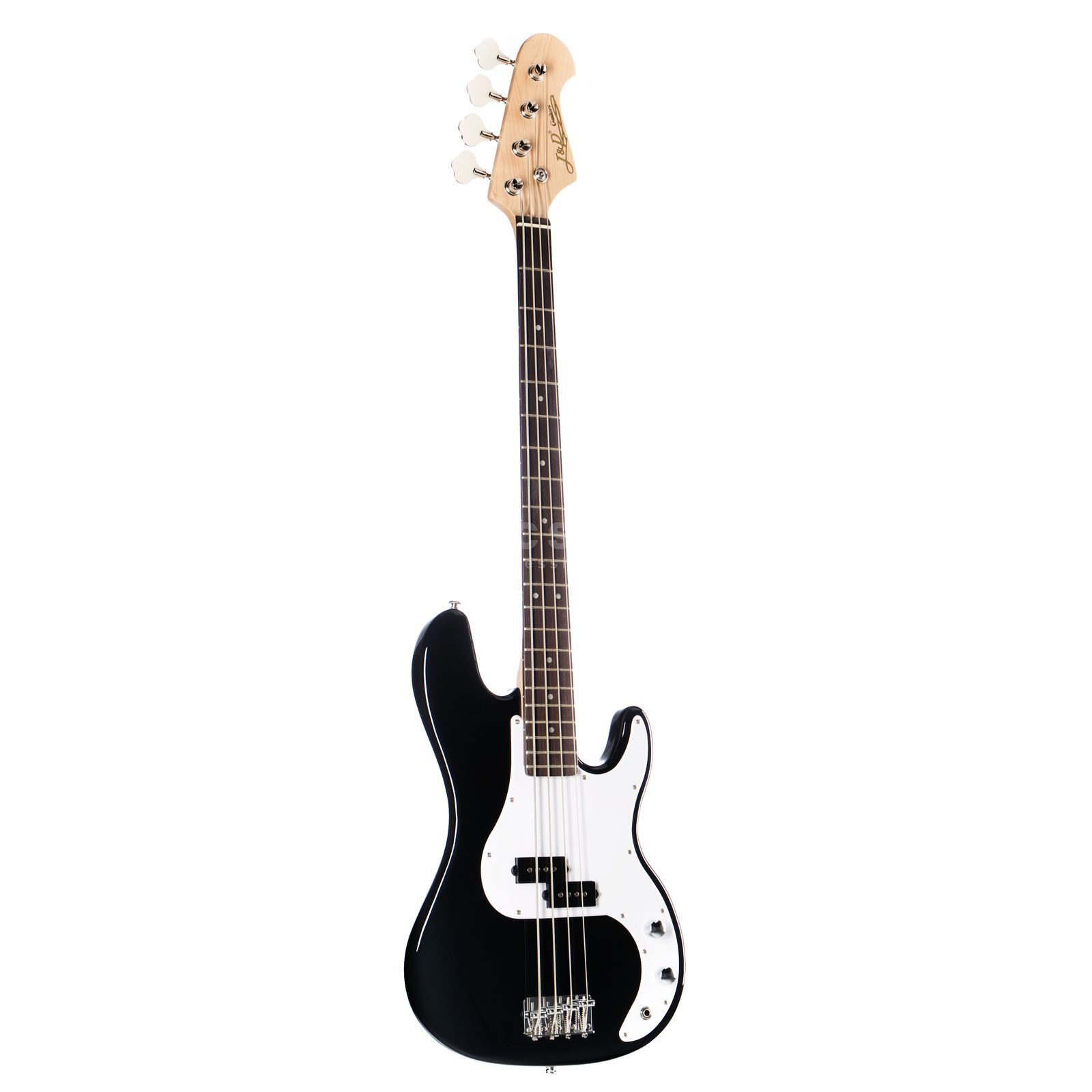 Jack & Danny Bass guitar YC-PB BK 4-String Black Highgloss Produktbillede