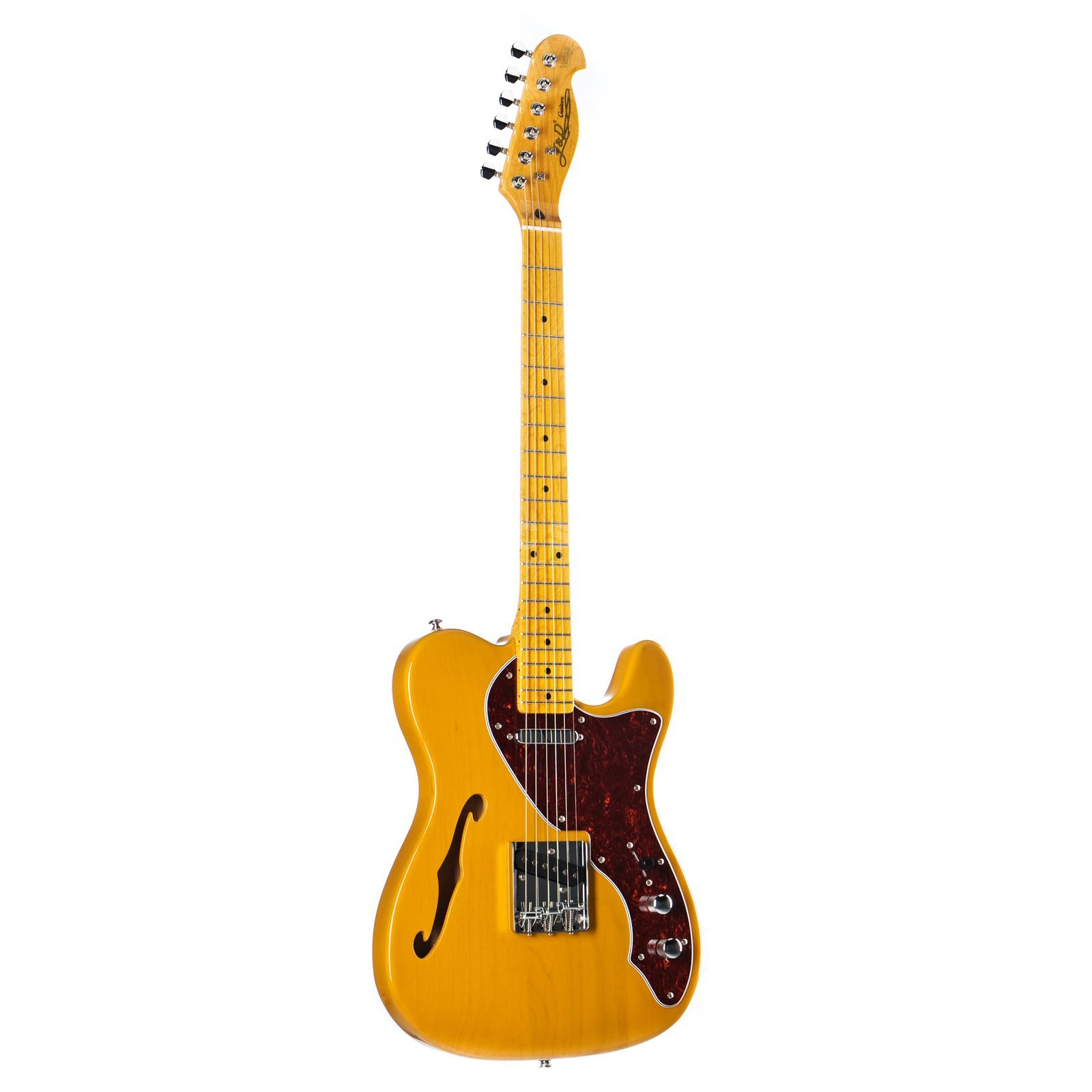 Jack & Danny TL Thinline BSB Butterscotch Blonde Produktbild