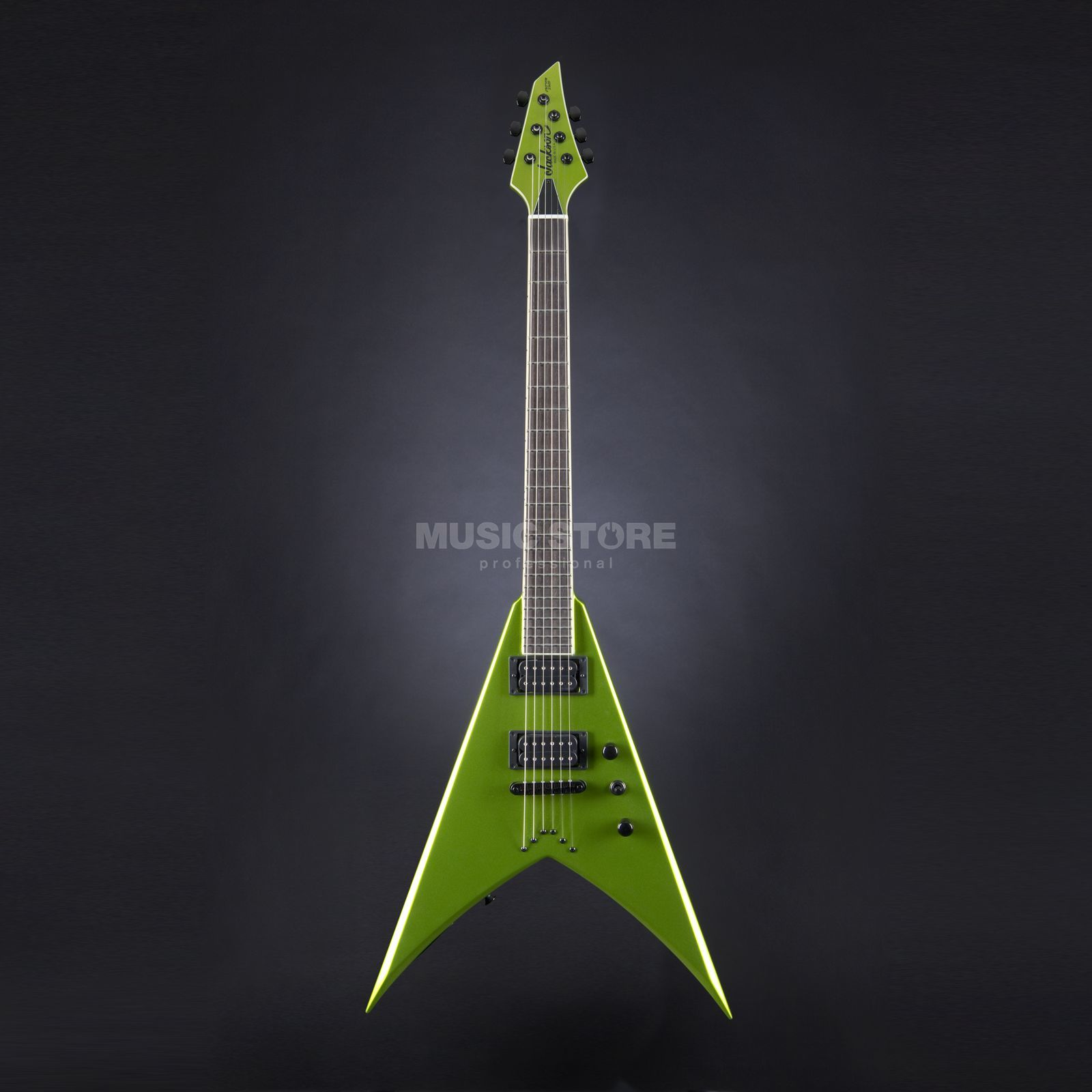 Jackson USA KVT AT1 King V Lime Green Metallic  #J8425 Produktbillede